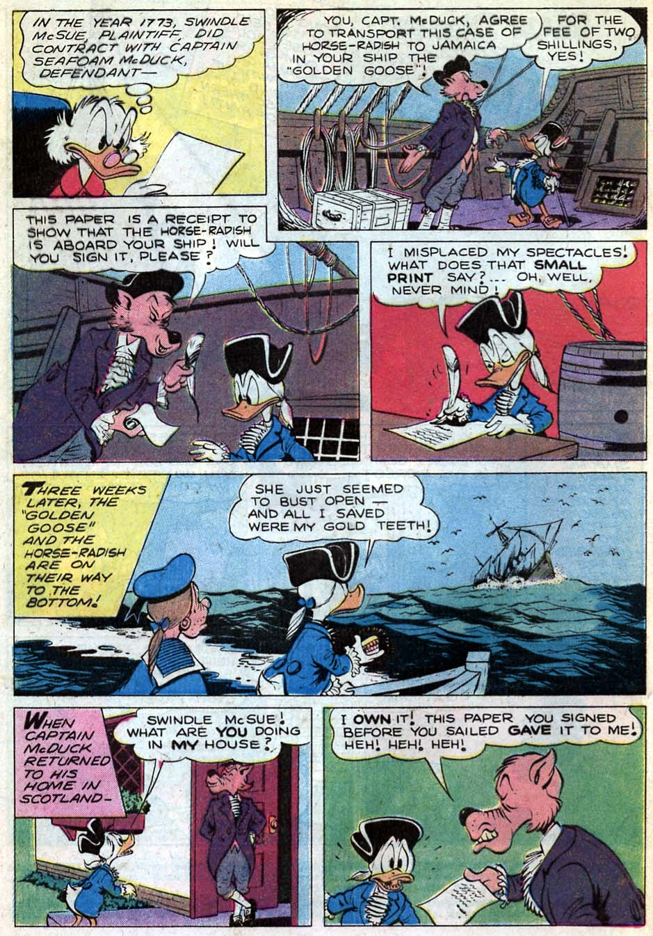 Read online Uncle Scrooge (1953) comic -  Issue #181 - 4