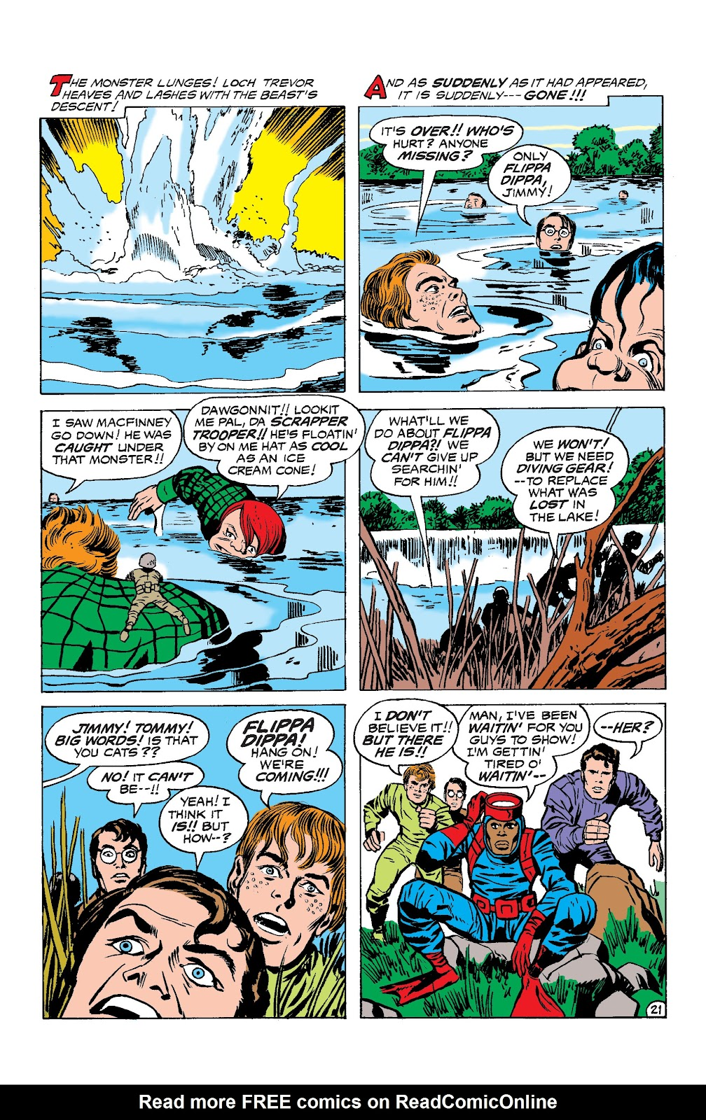 Read online Superman's Pal, Jimmy Olsen by Jack Kirby comic -  Issue # TPB (Part 3) - 60