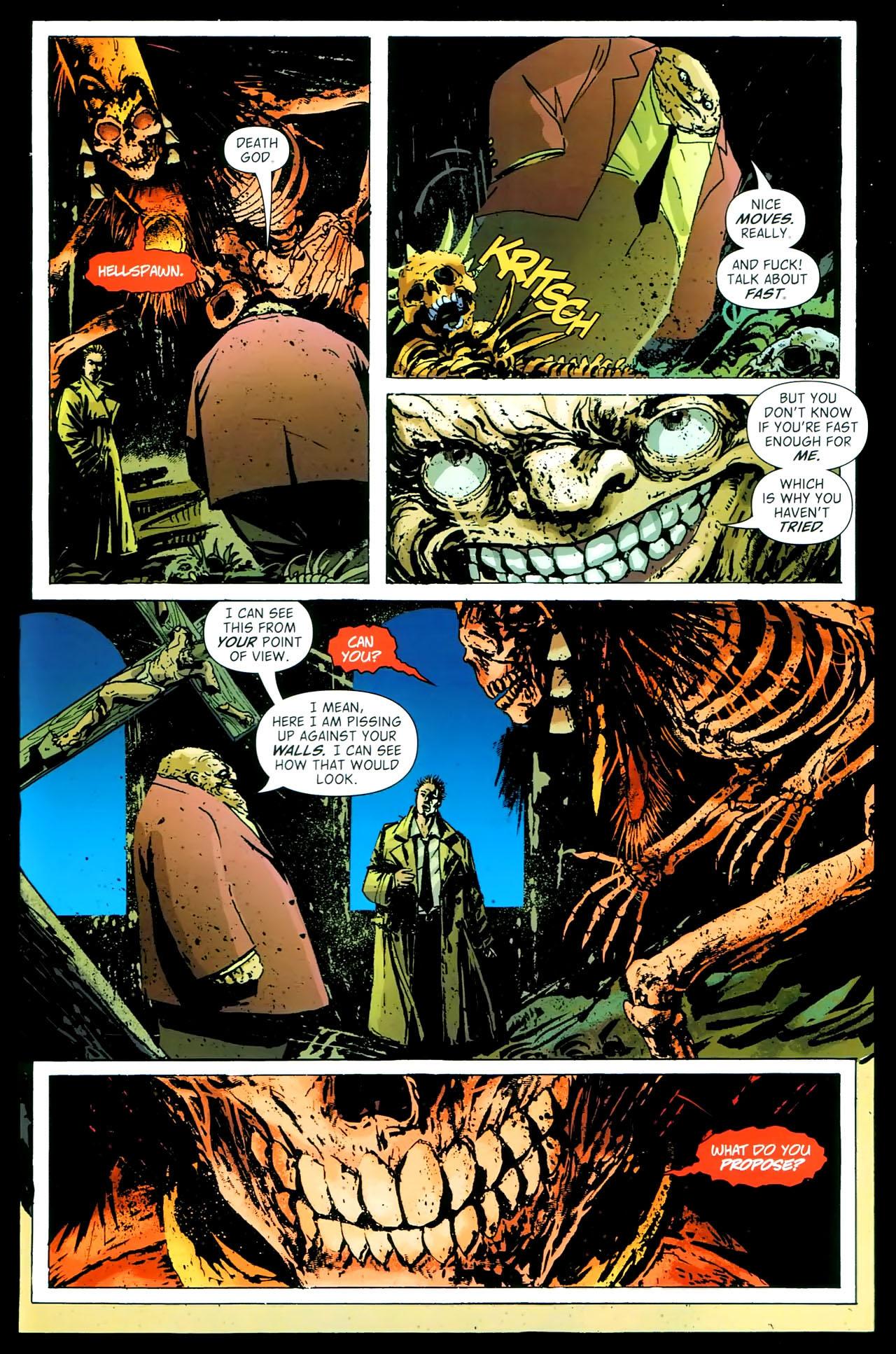 Read online John Constantine Hellblazer: All His Engines comic -  Issue # Full - 85
