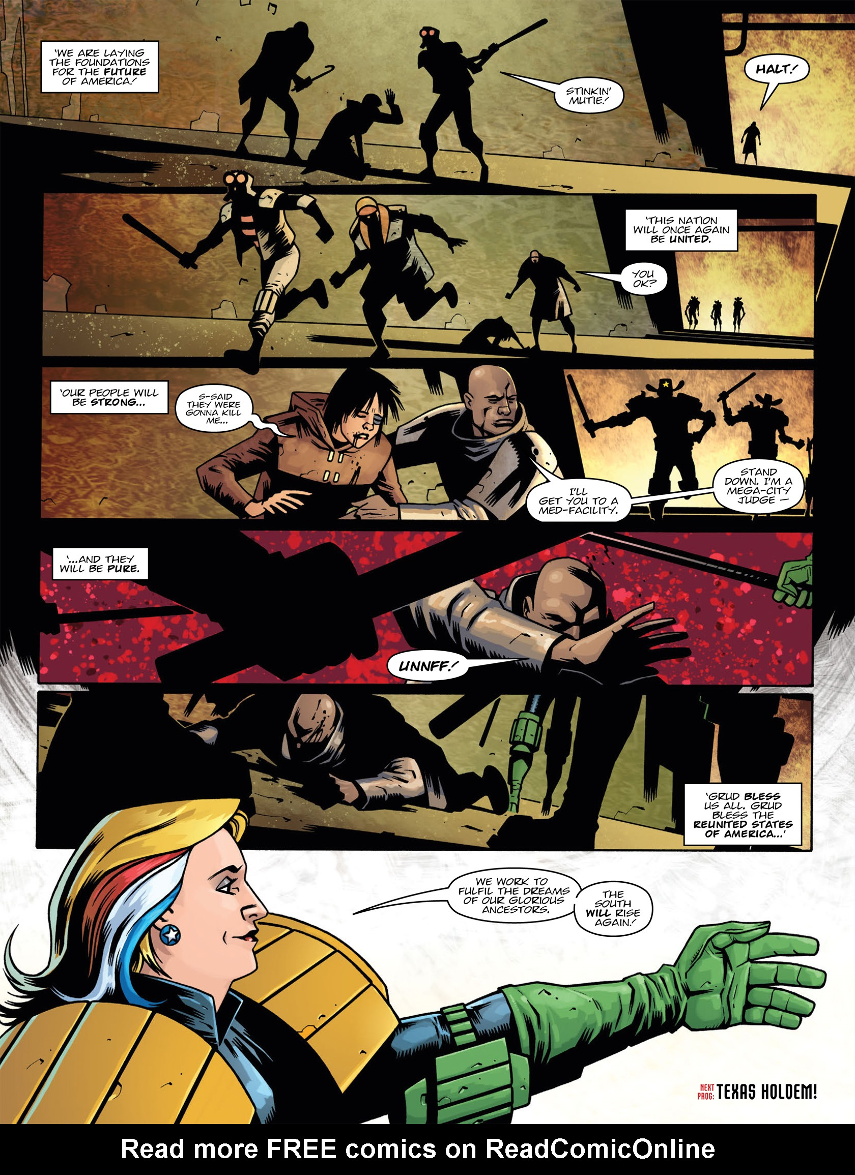 Read online 2000 AD comic -  Issue #1986 - 8
