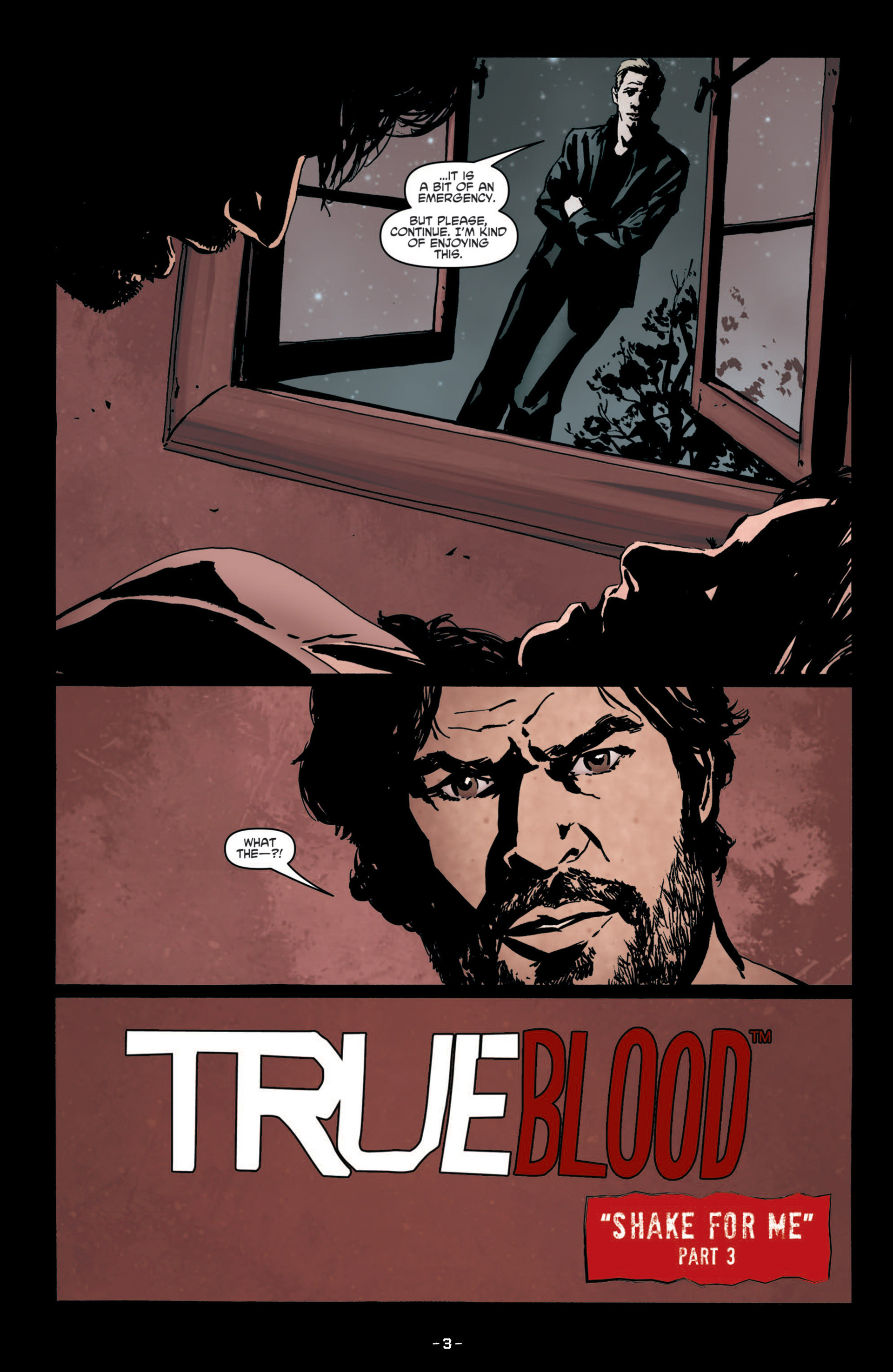 Read online True Blood (2012) comic -  Issue #8 - 5