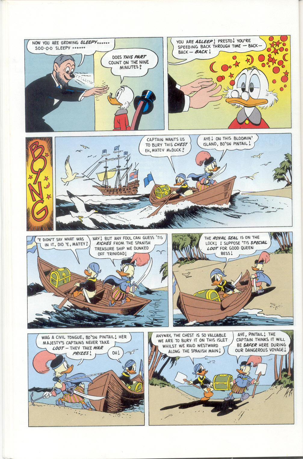 Read online Uncle Scrooge (1953) comic -  Issue #310 - 48