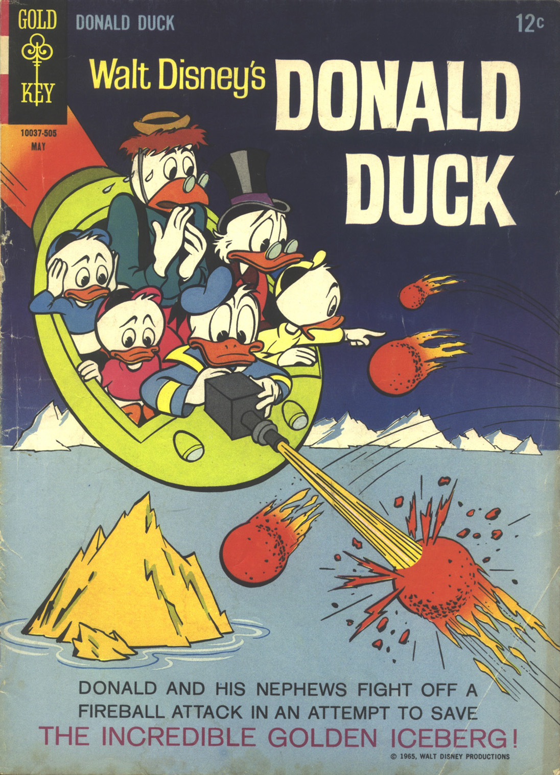 Walt Disney's Donald Duck (1952) issue 101 - Page 1
