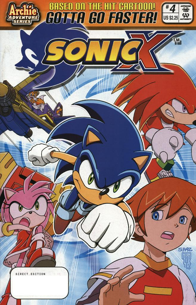 Read online Sonic X comic -  Issue #4 - 1