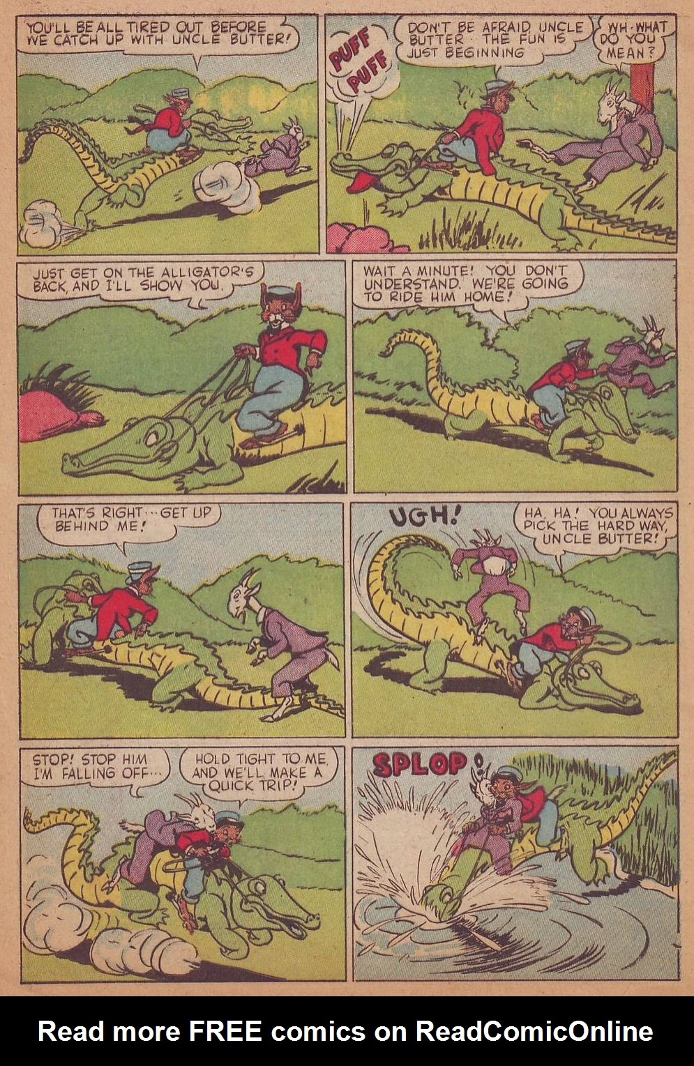 Read online Animal Comics comic -  Issue #16 - 8