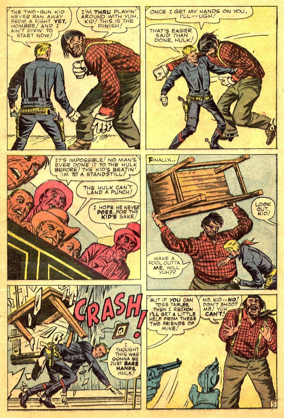 Gunsmoke Western issue 63 - Page 17