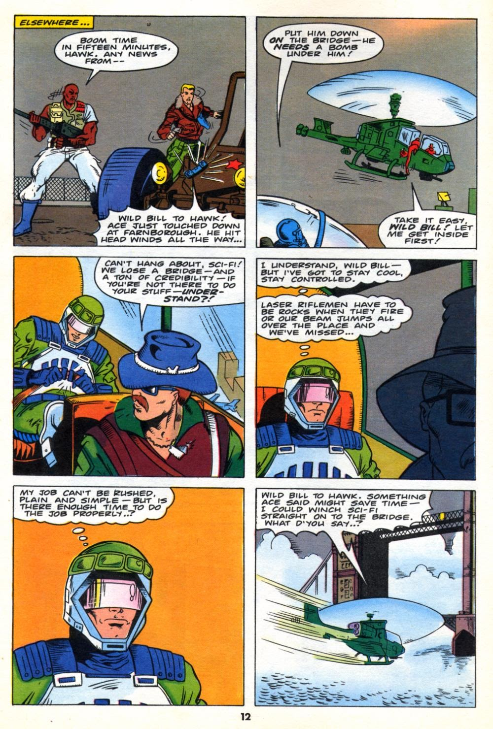 G.I. Joe European Missions issue 10 - Page 12