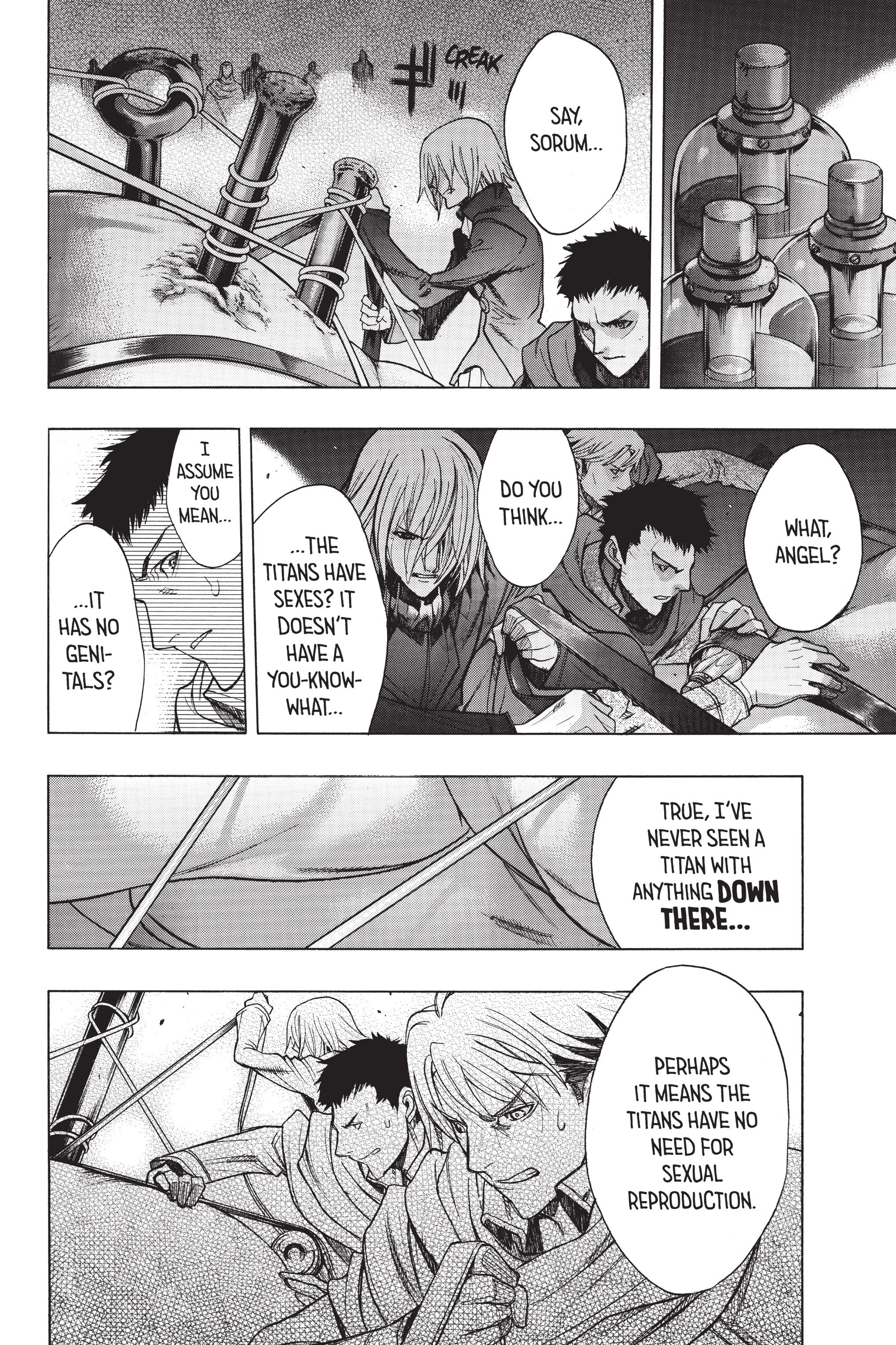 Read online Attack on Titan: Before the Fall comic -  Issue #5 - 180