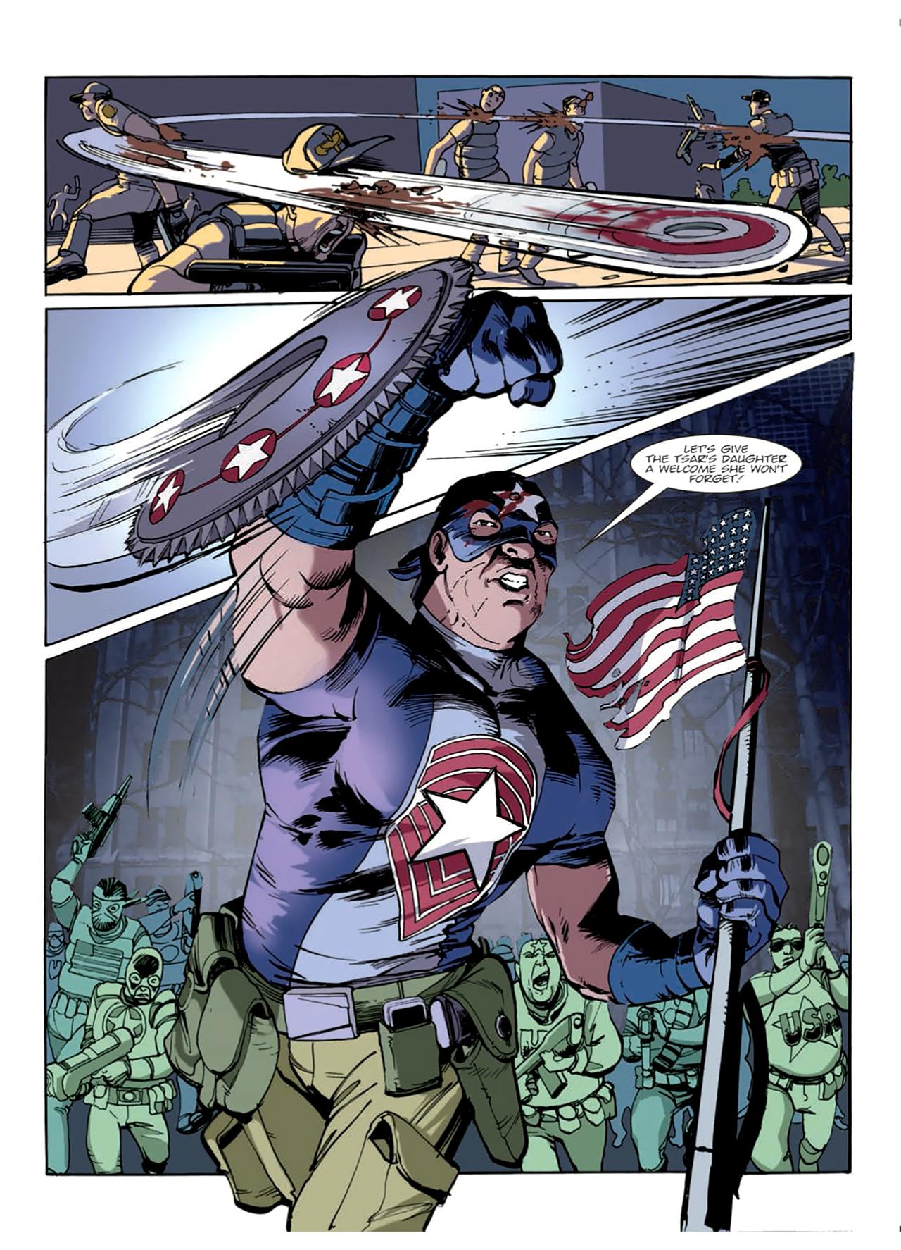 Read online Nikolai Dante comic -  Issue # TPB 9 - 23