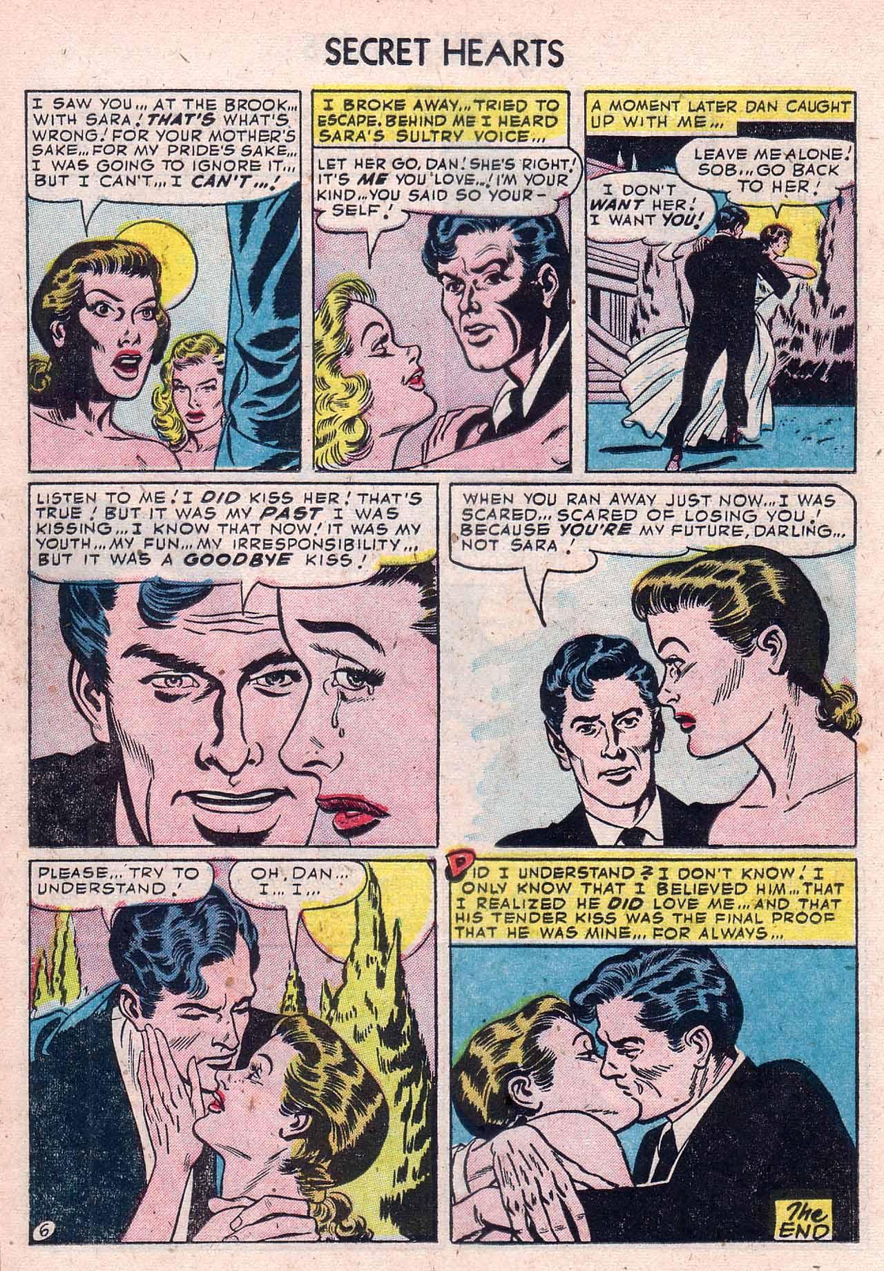 Read online Secret Hearts comic -  Issue #12 - 16