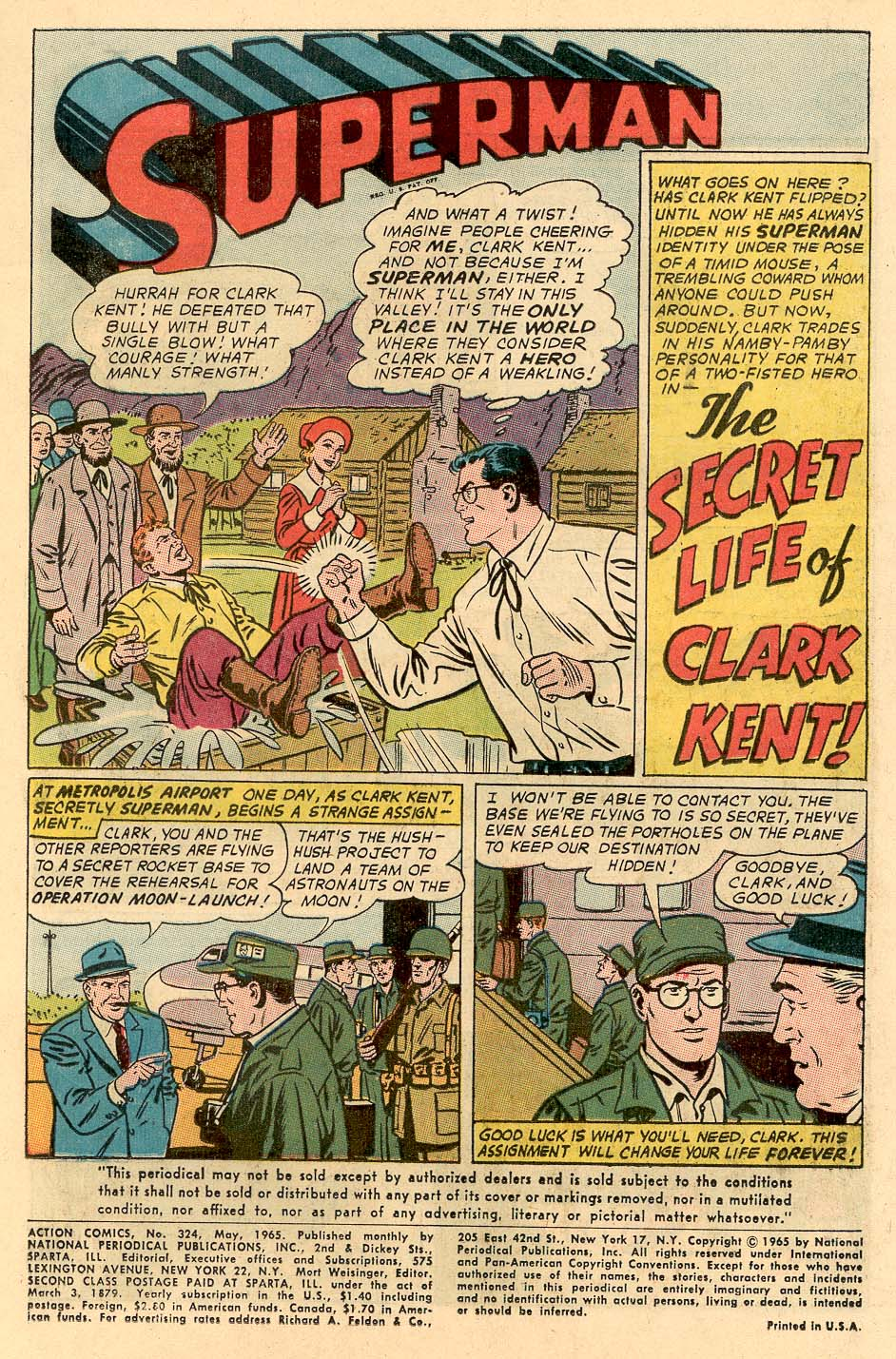 Read online Action Comics (1938) comic -  Issue #324 - 3