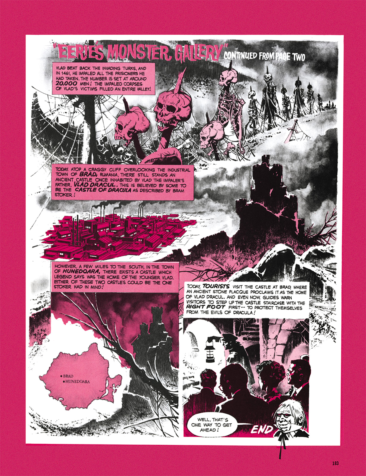 Read online Eerie Archives comic -  Issue # TPB 8 - 184
