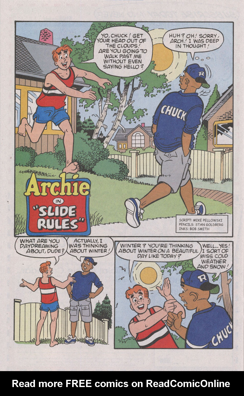 Read online Archie (1960) comic -  Issue #539 - 22