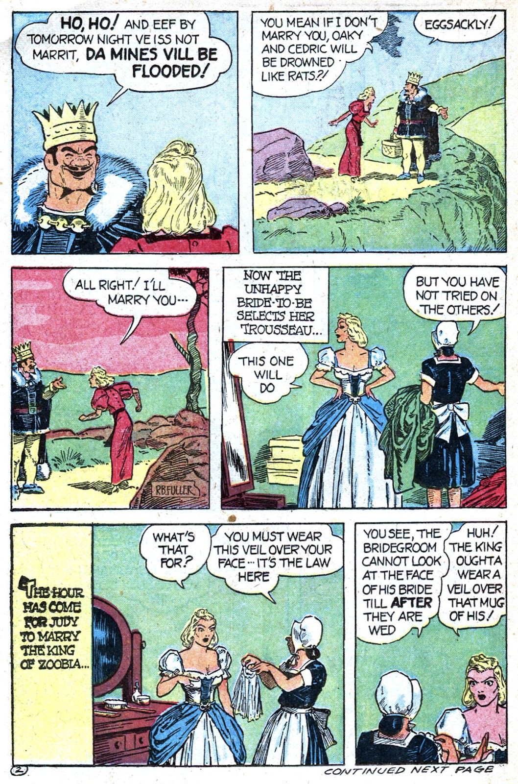 Read online Famous Funnies comic -  Issue #128 - 36