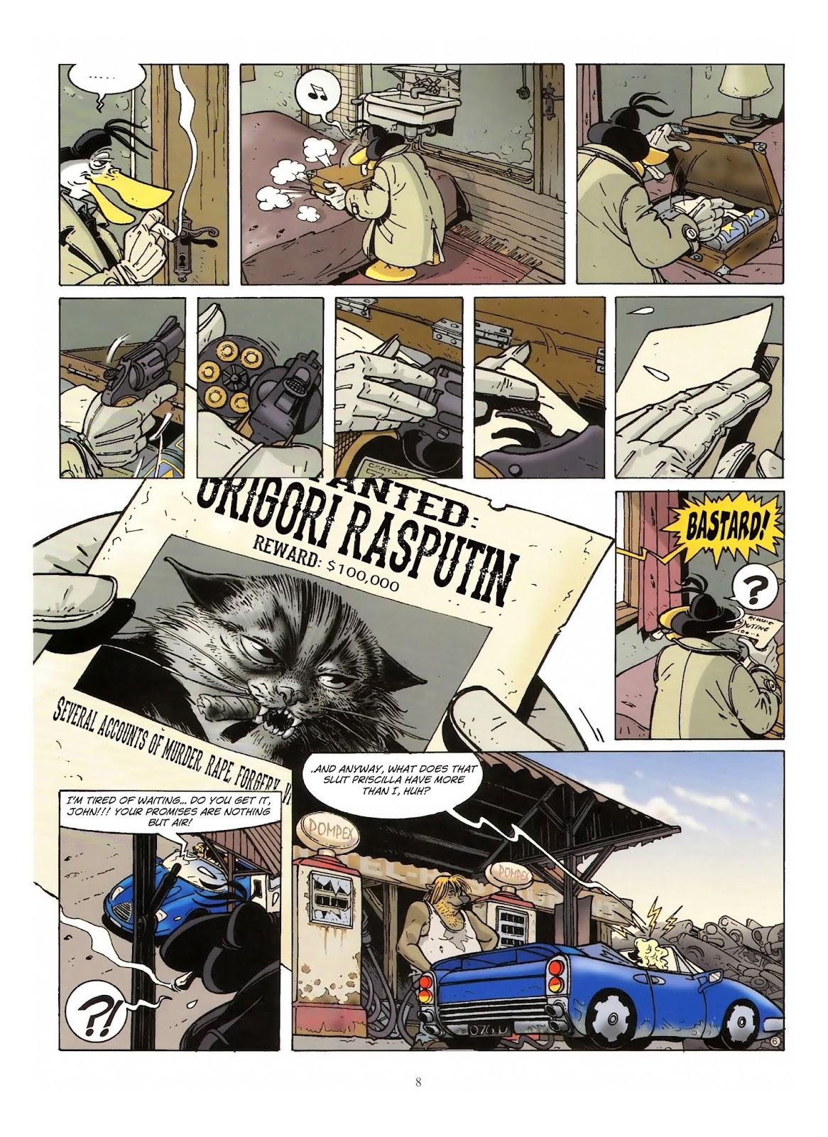 Une enquête de l'inspecteur Canardo issue 10 - Page 9