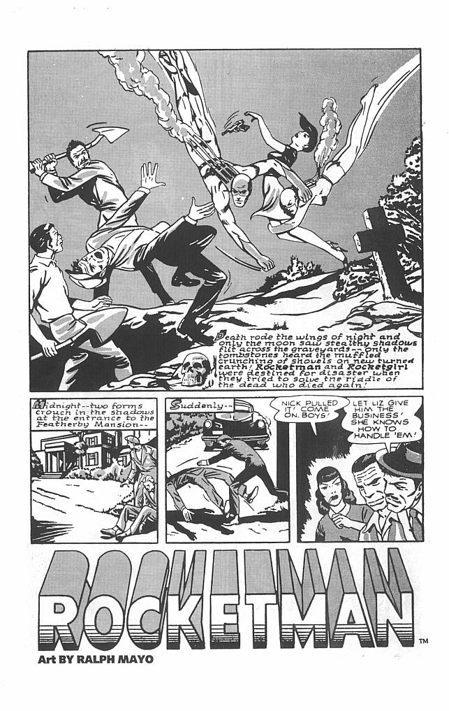 Read online Golden-Age Men of Mystery comic -  Issue #7 - 11