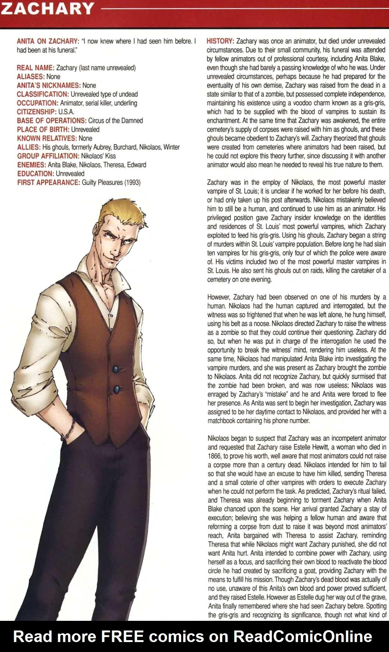 Read online Anita Blake, Vampire Hunter: Guilty Pleasures Handbook comic -  Issue #Anita Blake, Vampire Hunter: Guilty Pleasures Handbook Full - 36