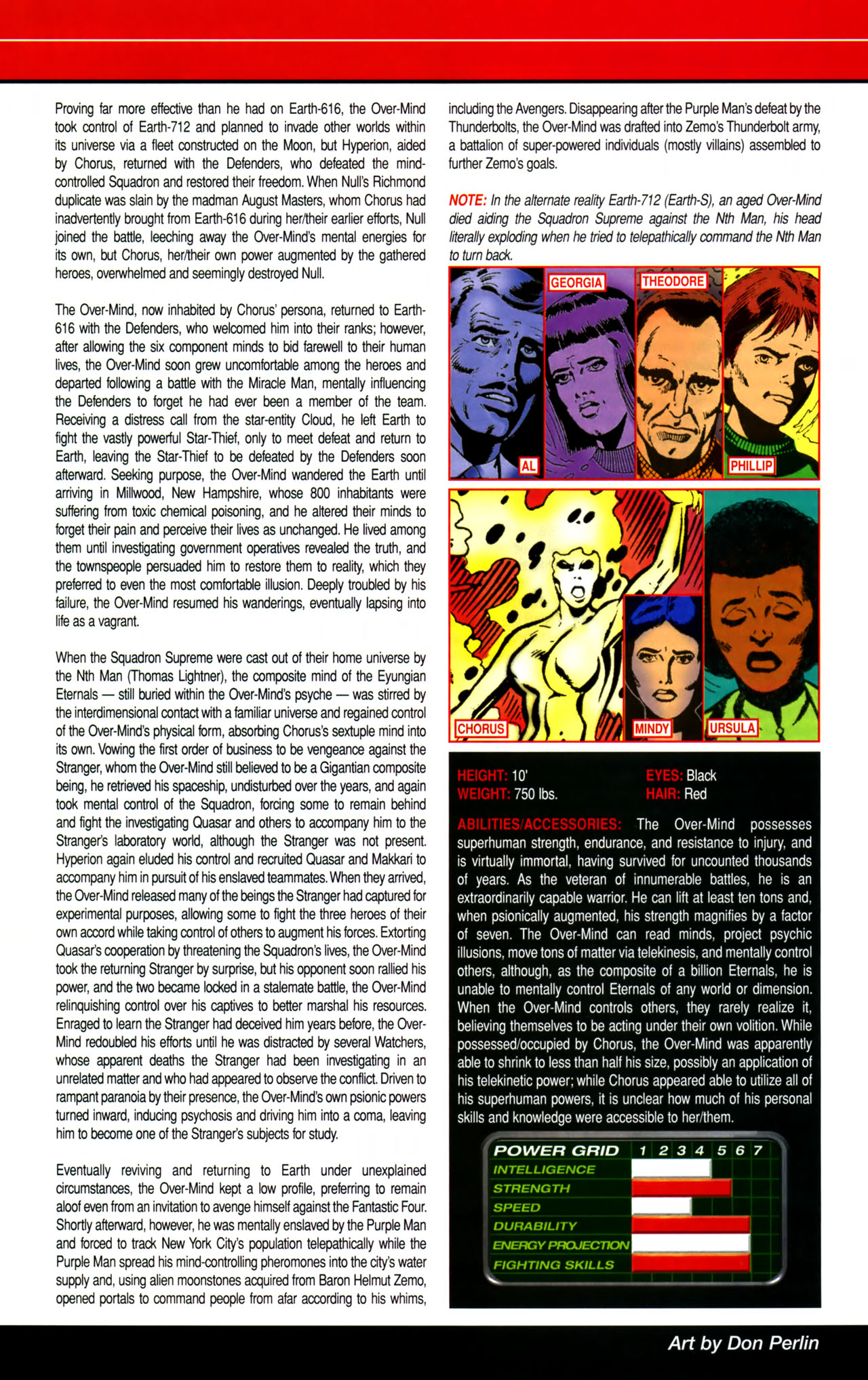 Read online All-New Official Handbook of the Marvel Universe A to Z comic -  Issue #8 - 32