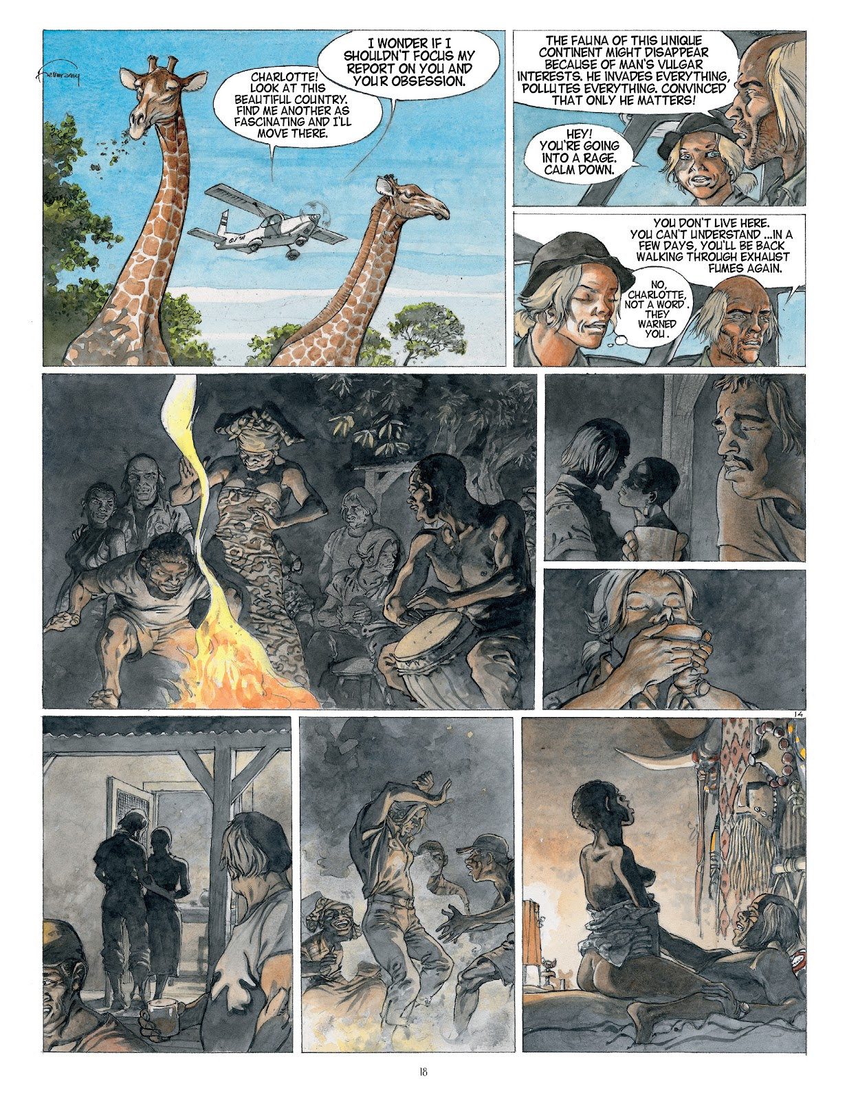 Read online Afrika comic -  Issue # TPB - 18