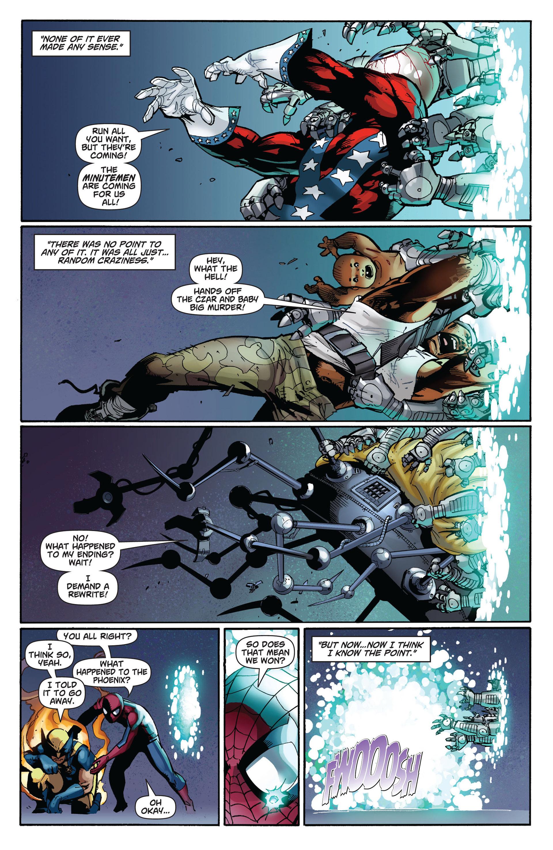 Read online Astonishing Spider-Man & Wolverine comic -  Issue #6 - 12