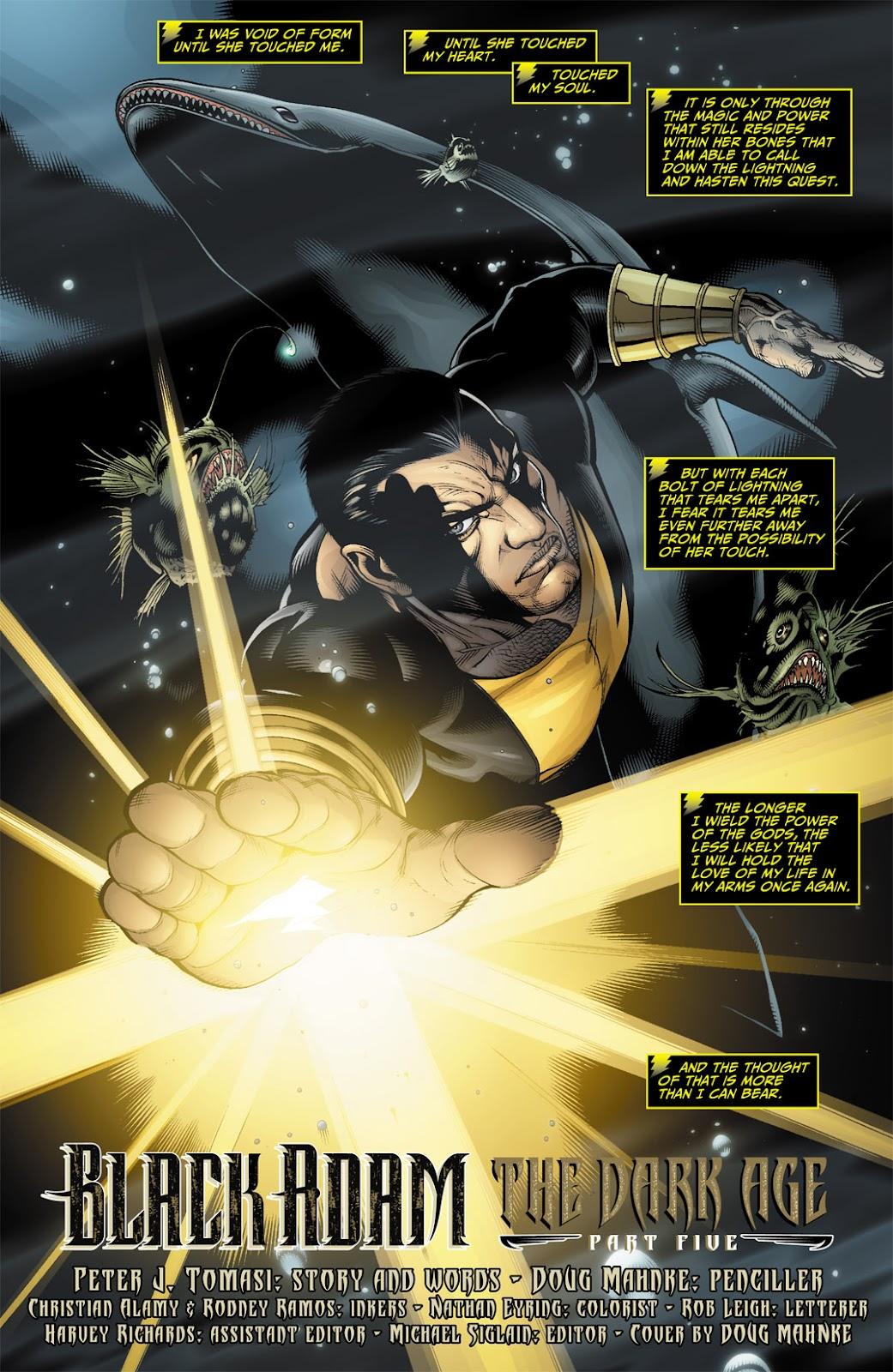 Black Adam: The Dark Age issue 5 - Page 2