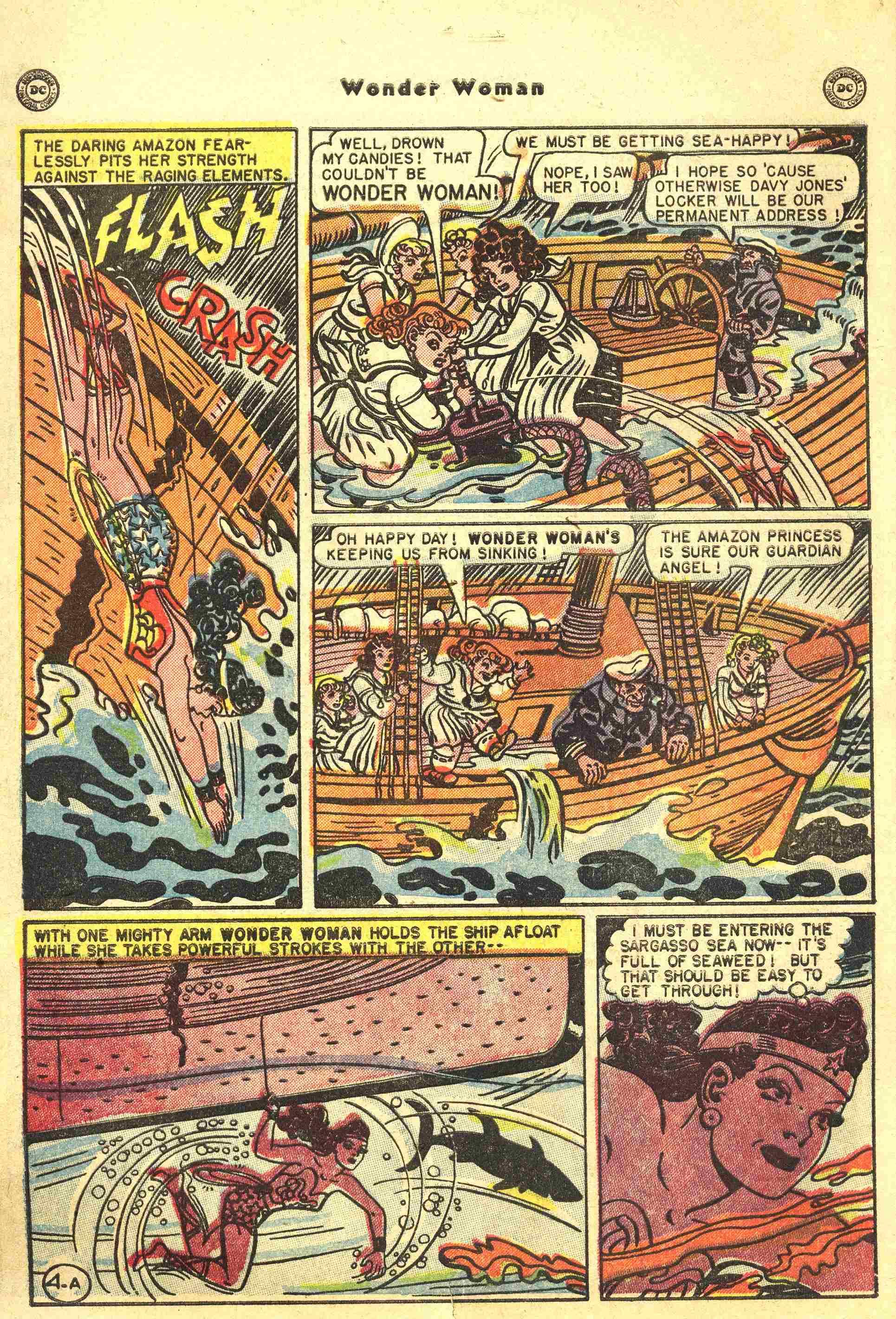 Read online Wonder Woman (1942) comic -  Issue #44 - 5