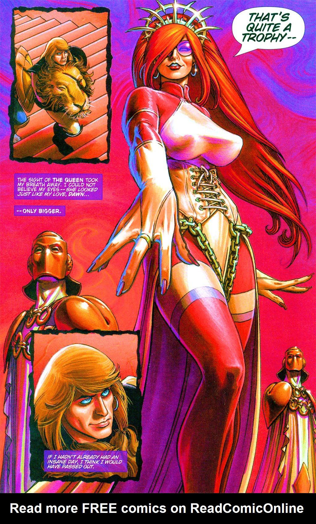 Read online Dawn: Three Tiers comic -  Issue #3 - 24