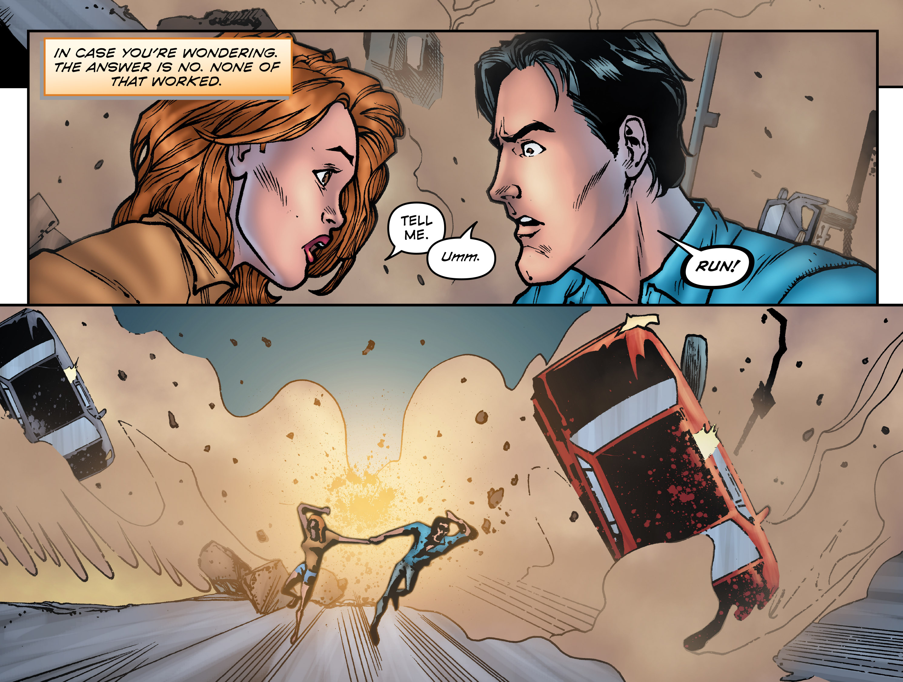 Read online Evil Dead 2: Dark Ones Rising comic -  Issue #5 - 5