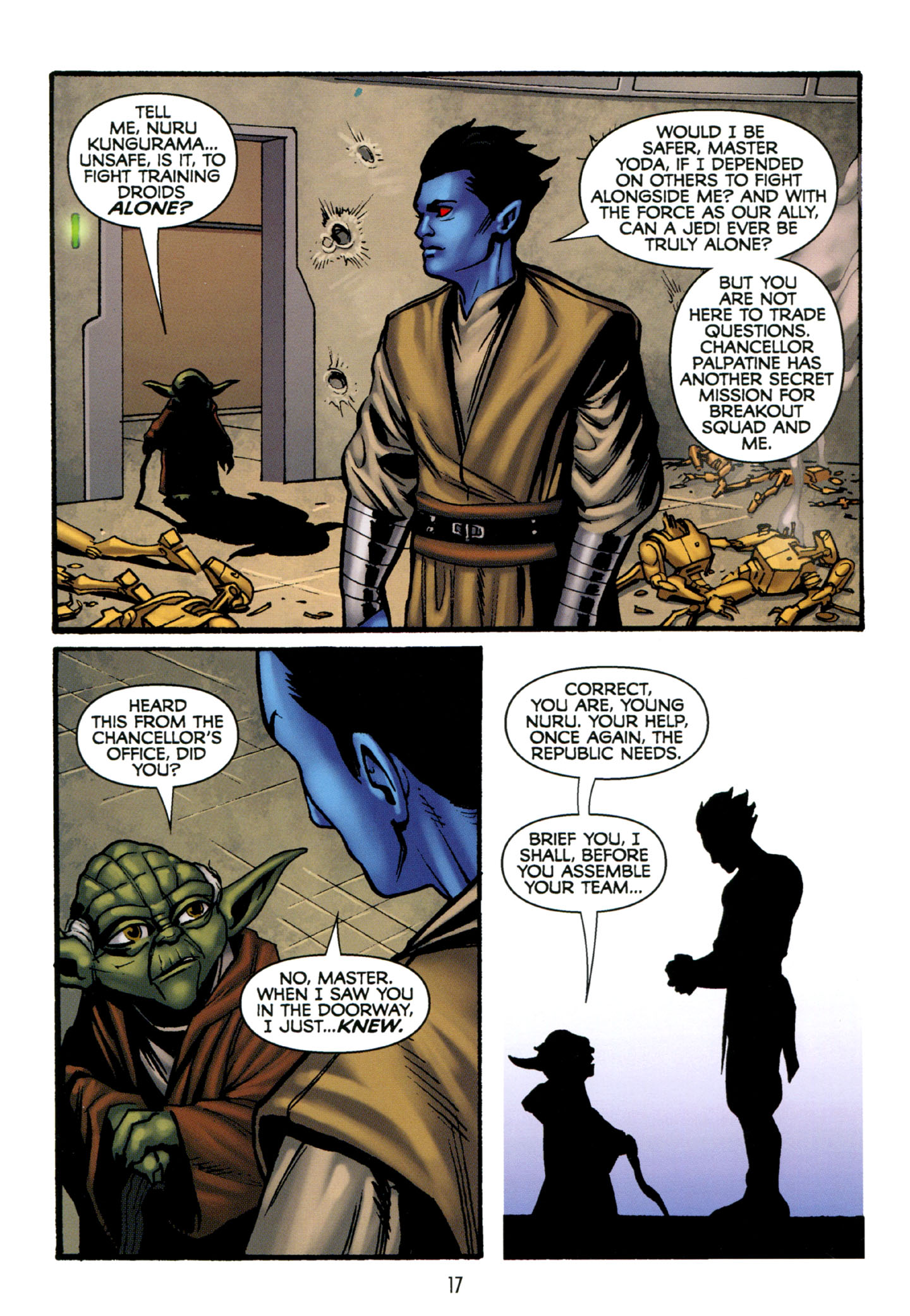 Read online Star Wars: The Clone Wars - Strange Allies comic -  Issue # Full - 18