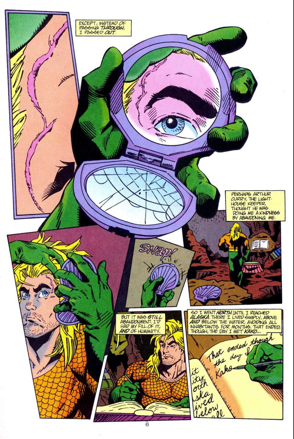 Read online Aquaman: Time and Tide comic -  Issue #3 - 7