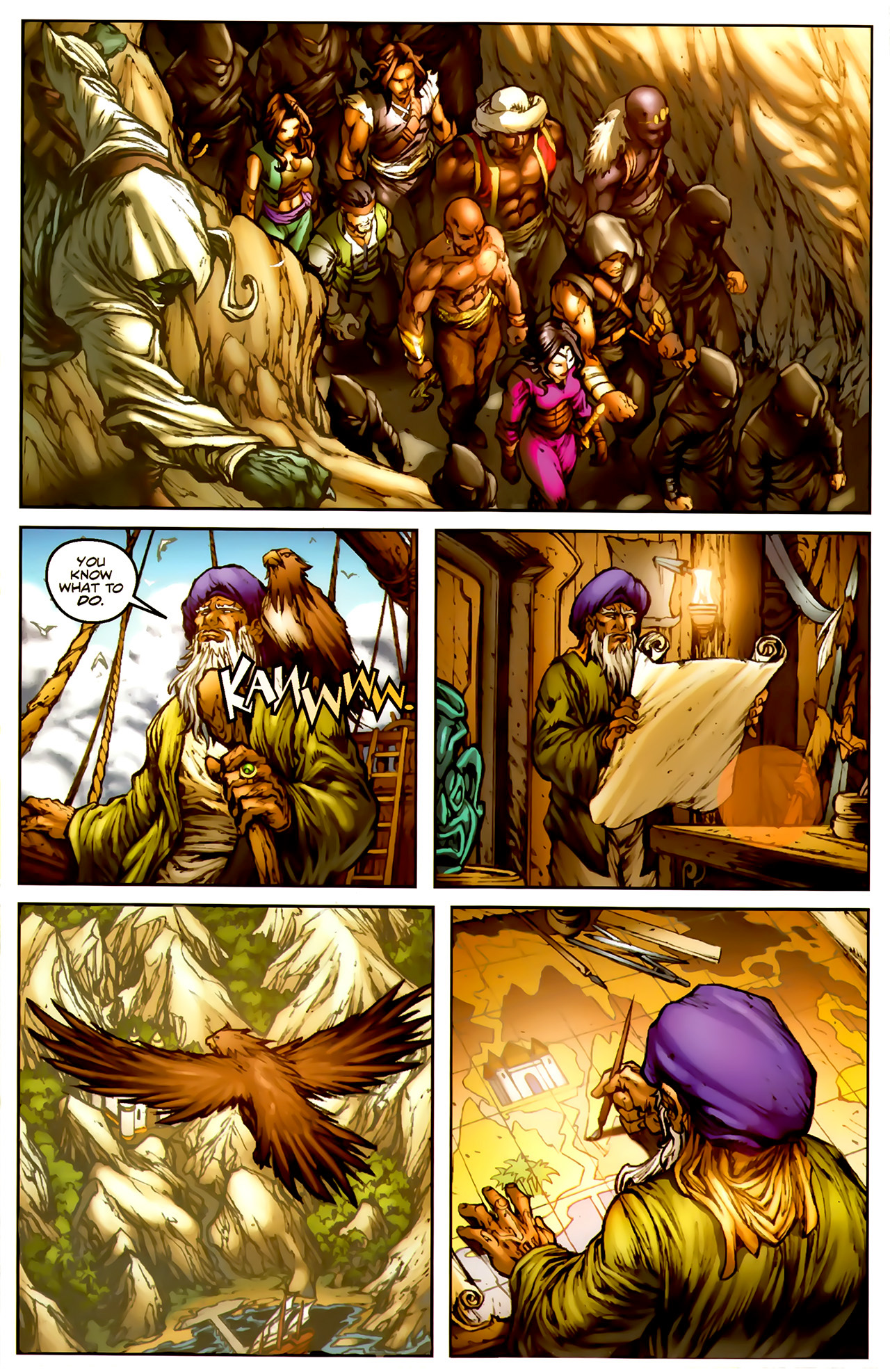 Read online 1001 Arabian Nights: The Adventures of Sinbad comic -  Issue #1 - 15