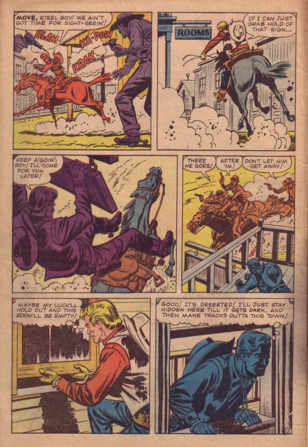 Gunsmoke Western issue 67 - Page 4