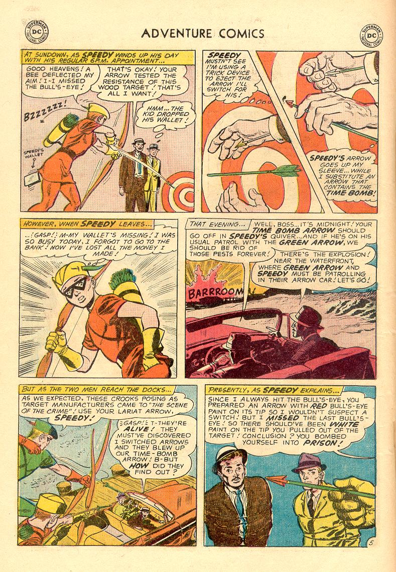Read online Adventure Comics (1938) comic -  Issue #263 - 21