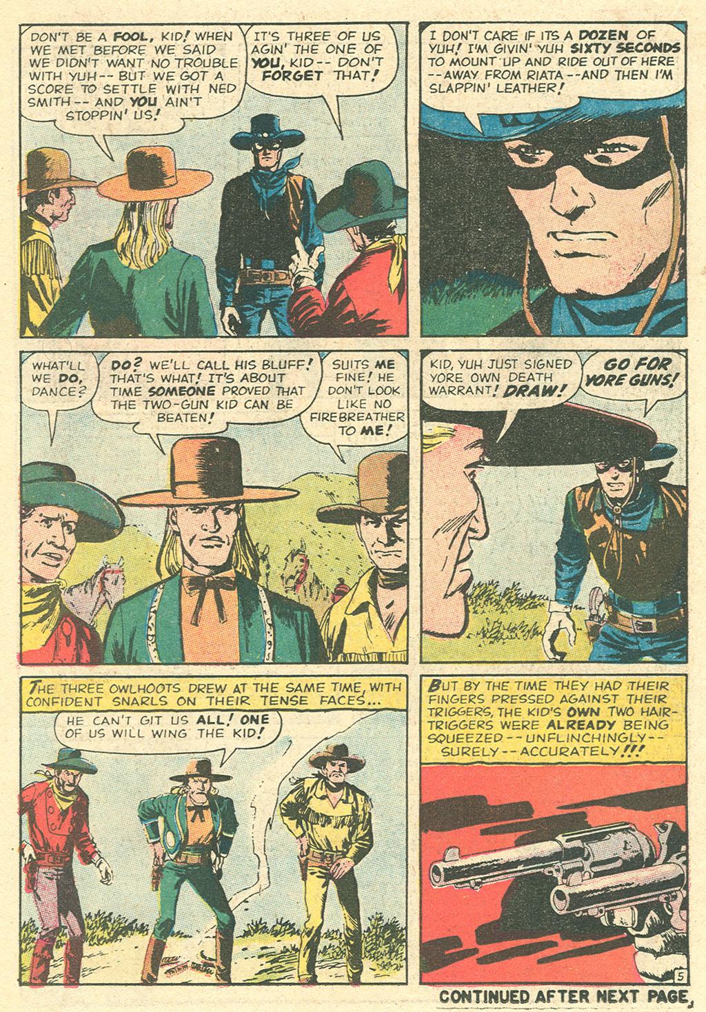 Read online Two-Gun Kid comic -  Issue #99 - 18