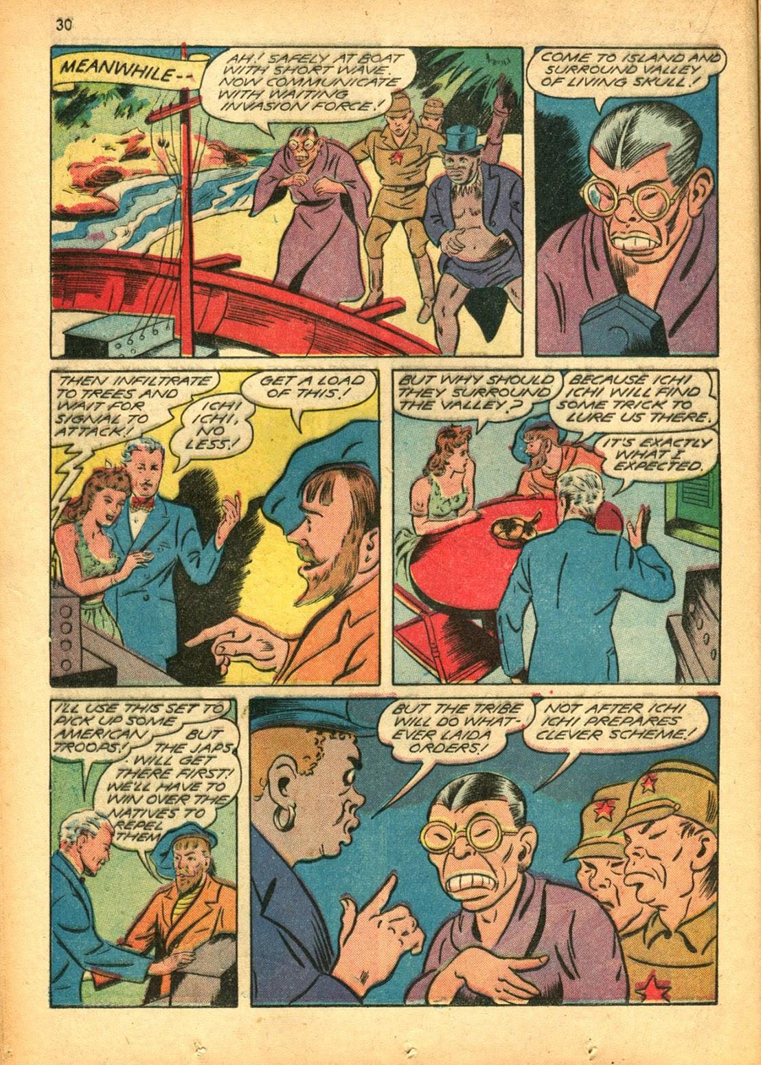 Read online Super-Magician Comics comic -  Issue #15 - 30