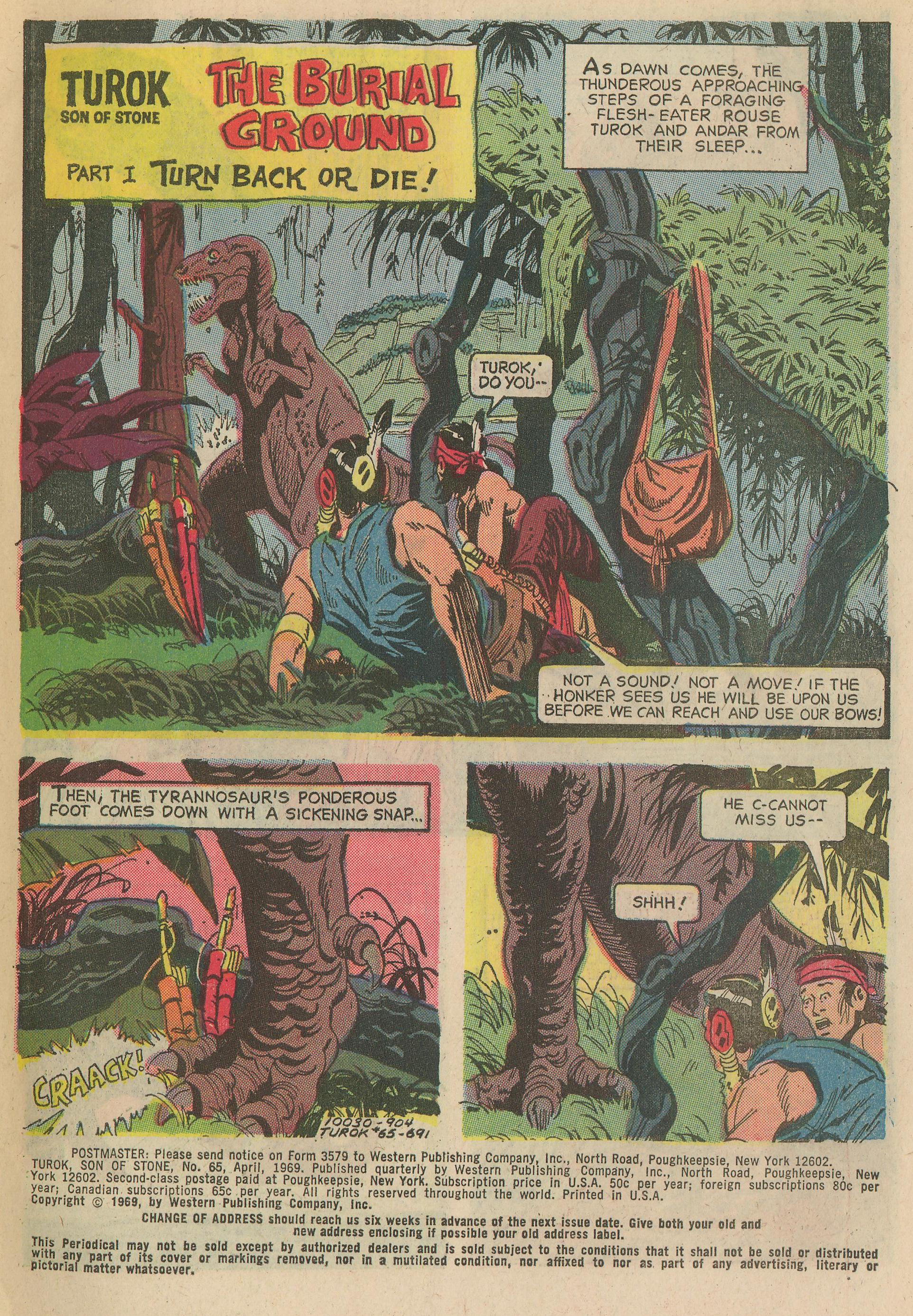 Read online Turok, Son of Stone comic -  Issue #65 - 3