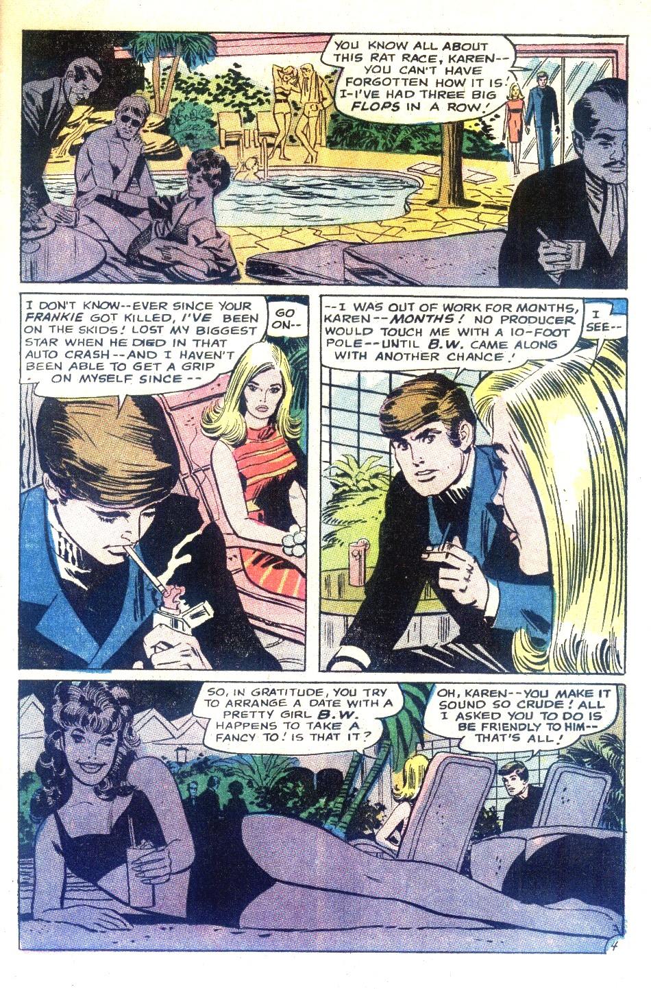 Read online Secret Hearts comic -  Issue #130 - 21