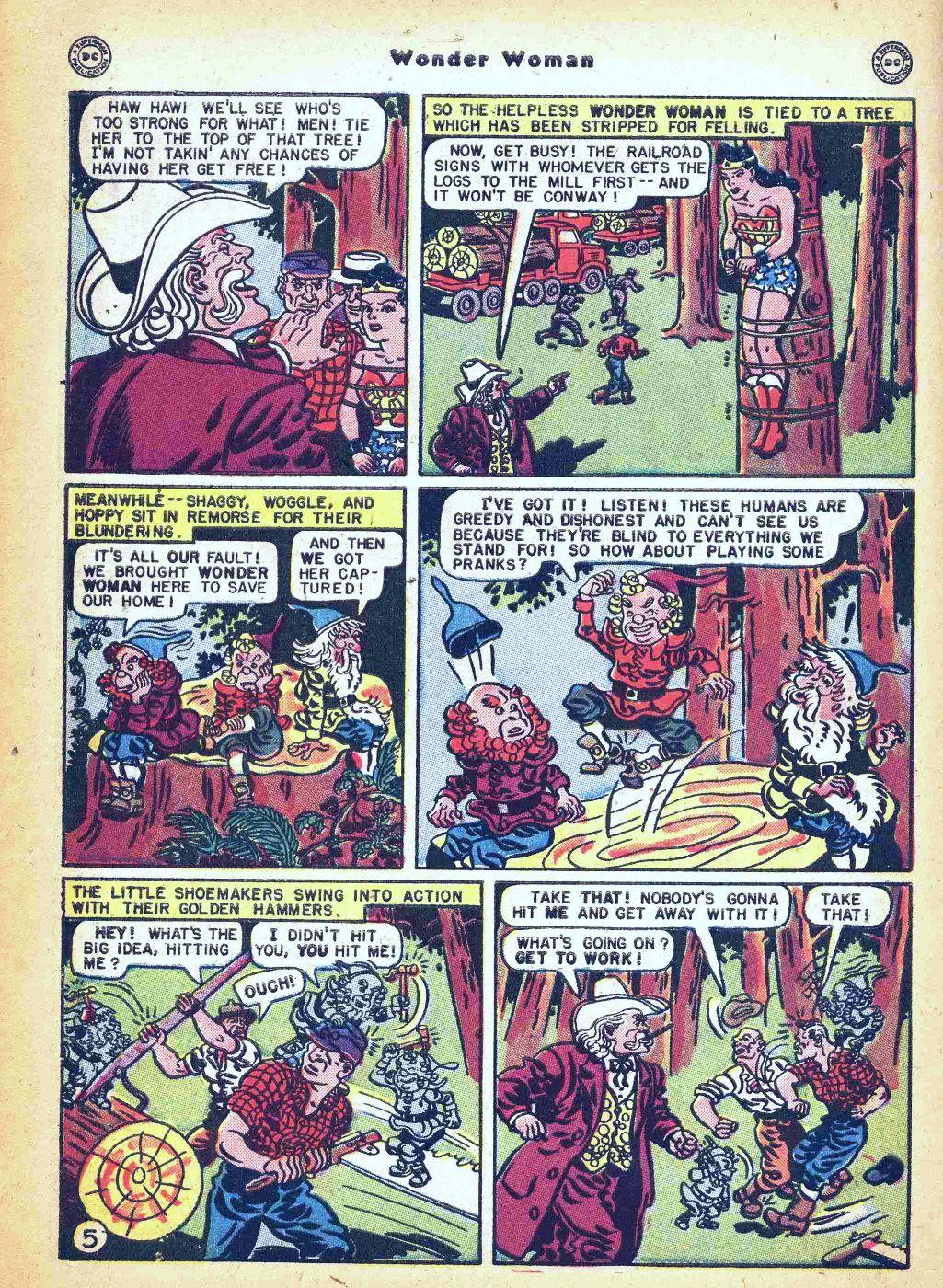 Read online Wonder Woman (1942) comic -  Issue #35 - 42