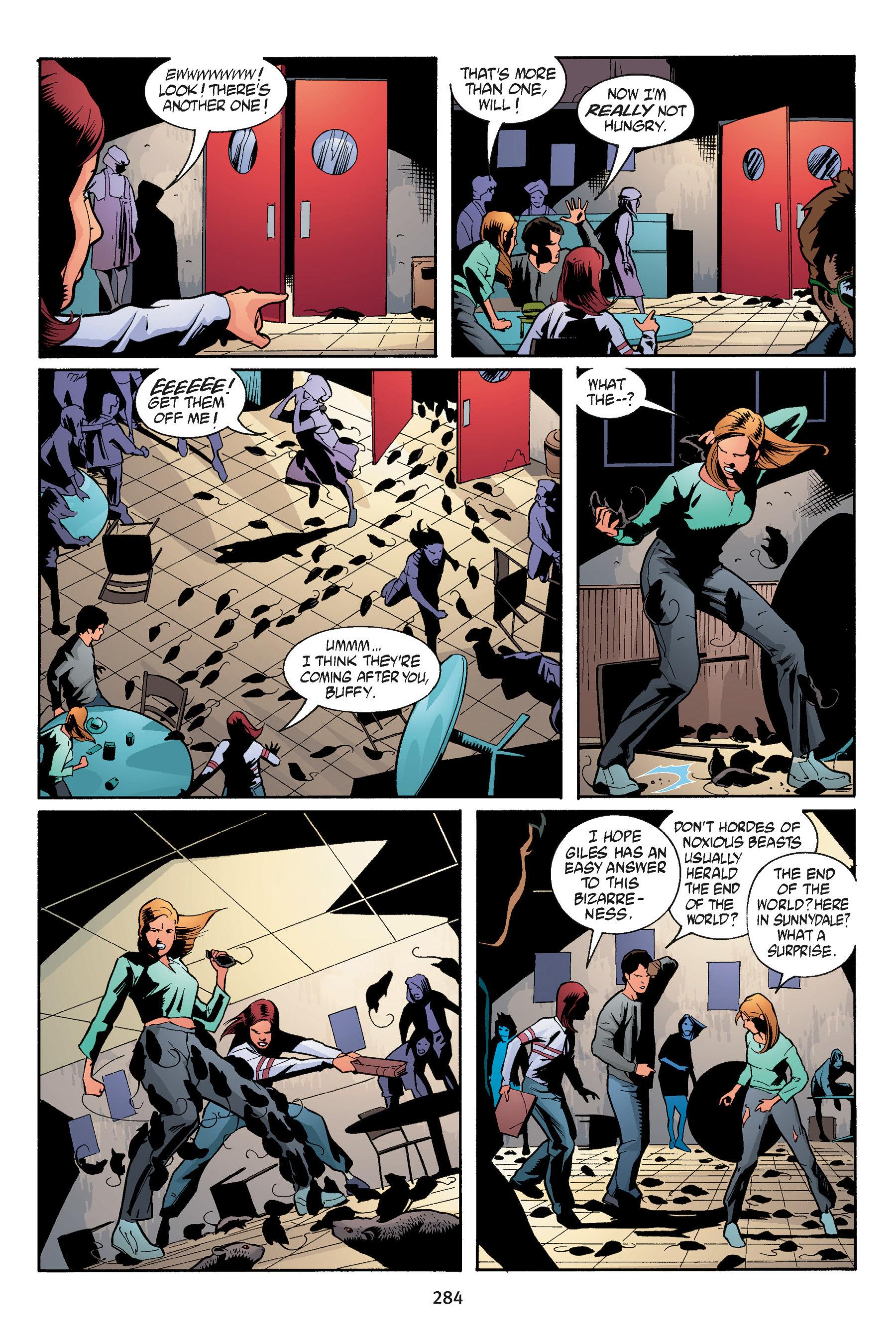 Read online Buffy the Vampire Slayer: Omnibus comic -  Issue # TPB 5 - 283
