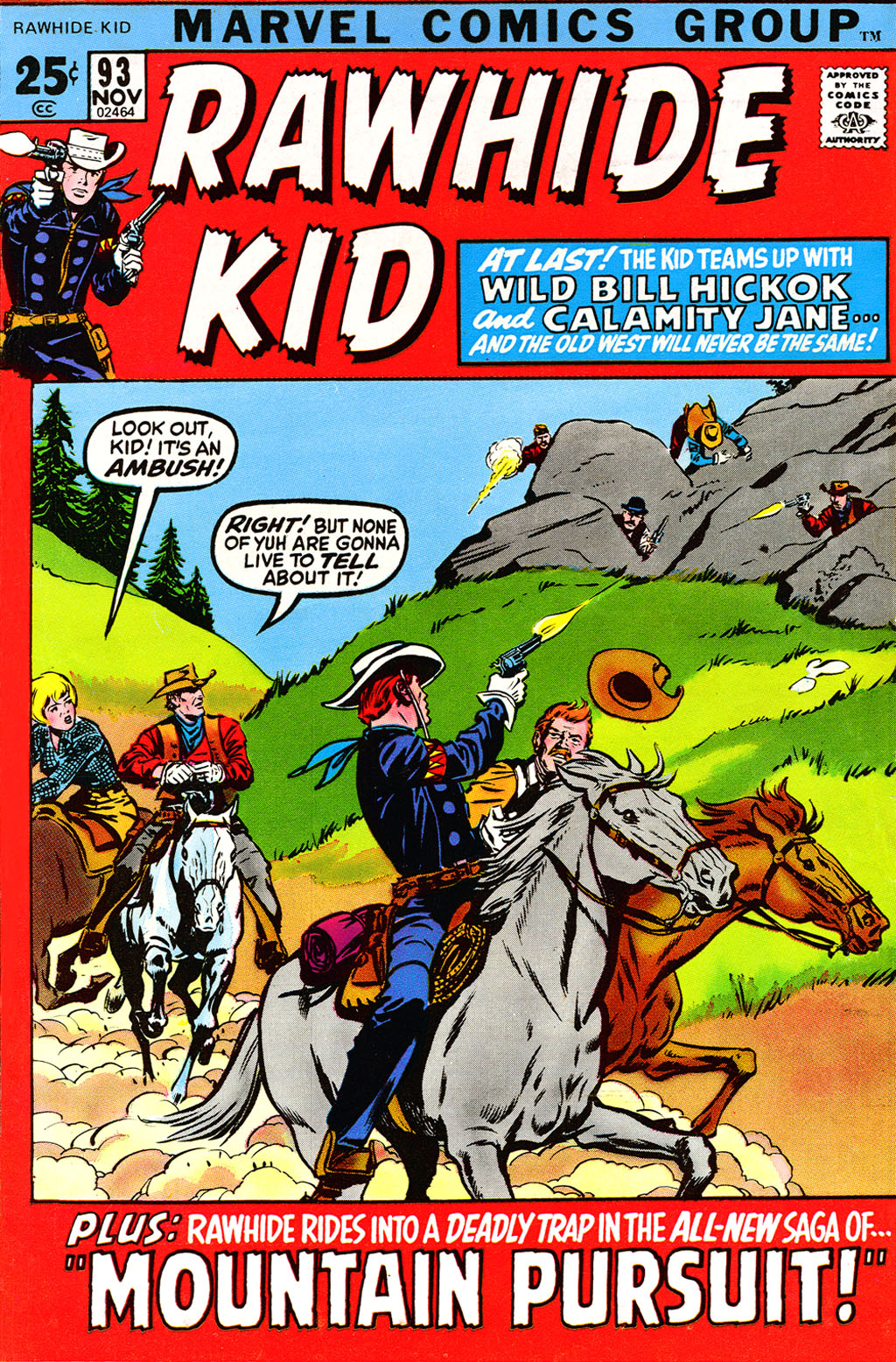 The Rawhide Kid (1955) issue 93 - Page 1