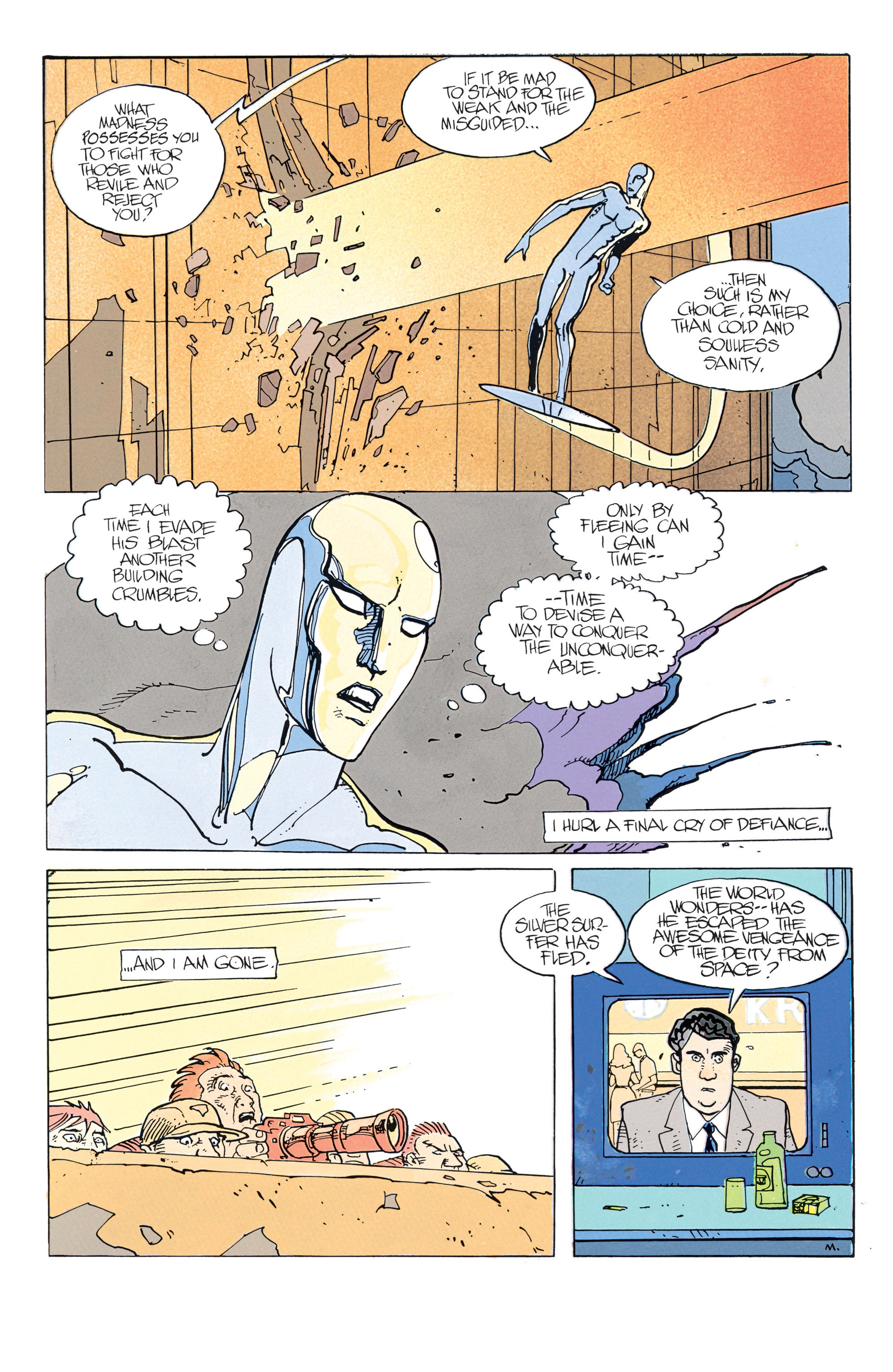 Read online Silver Surfer (1988) comic -  Issue #2 - 13