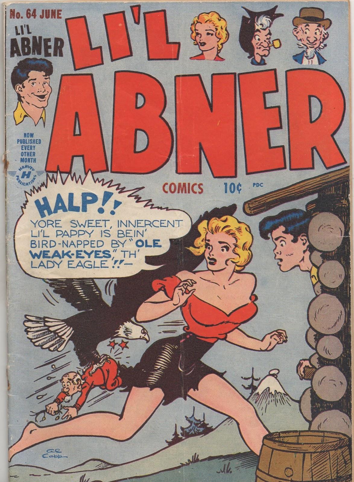 Li'l Abner Comics issue 64 - Page 1