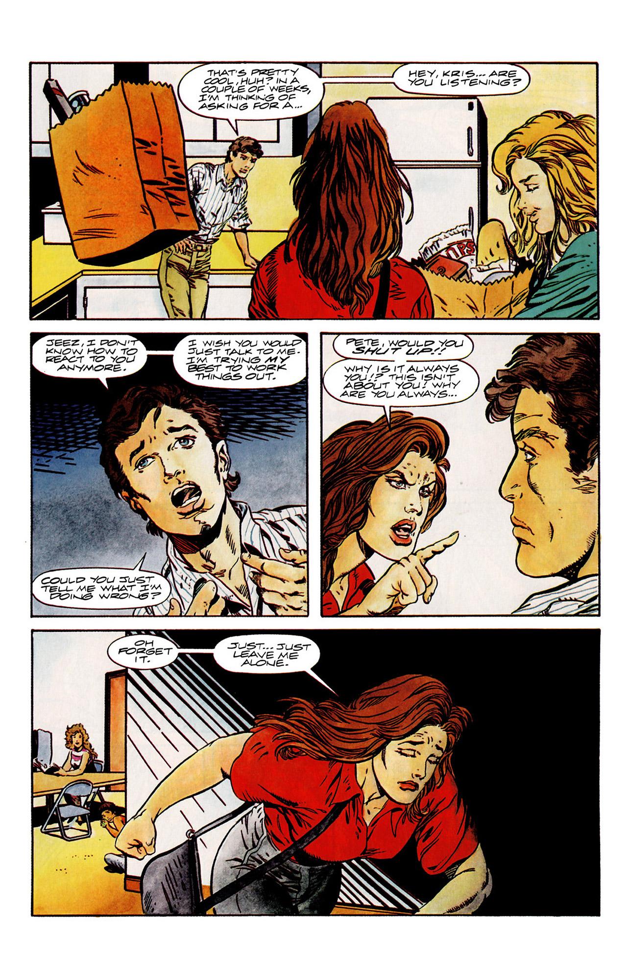 Read online Harbinger (1992) comic -  Issue #14 - 12