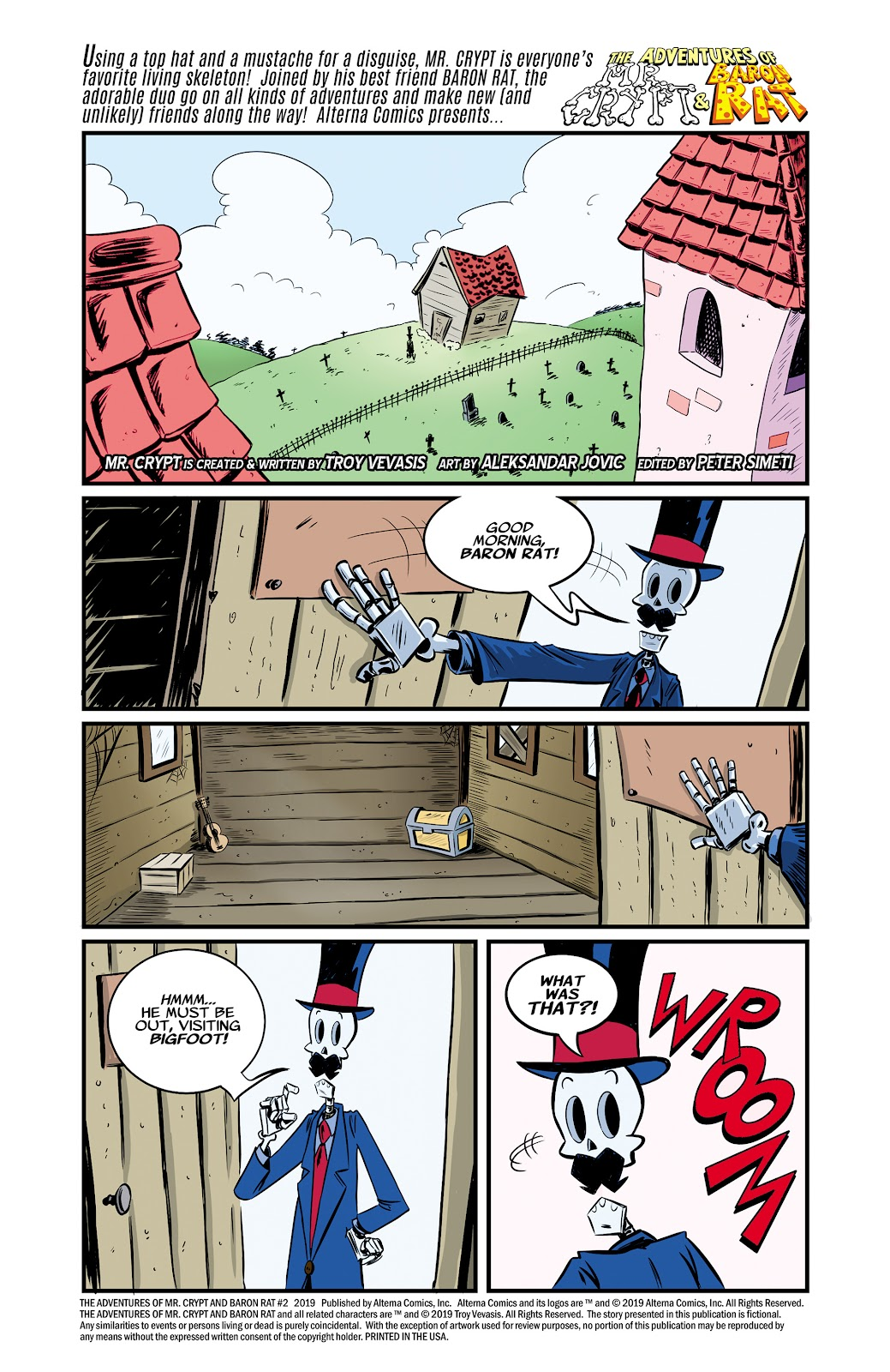 Read online The Adventures of Mr. Crypt and Baron Rat comic -  Issue #2 - 2