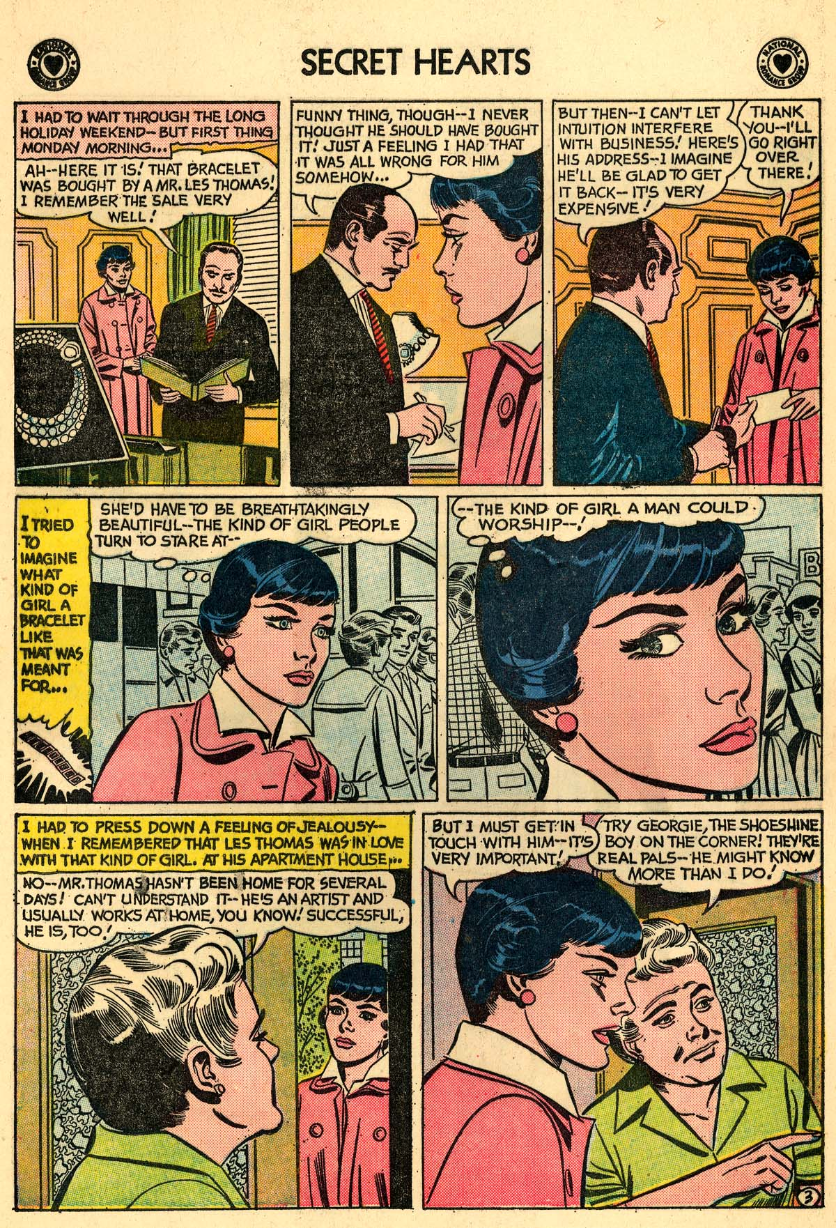 Read online Secret Hearts comic -  Issue #59 - 12