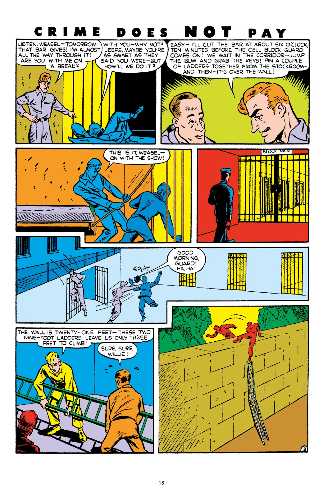 Read online Crime Does Not Pay Archives comic -  Issue # TPB 6 (Part 1) - 20