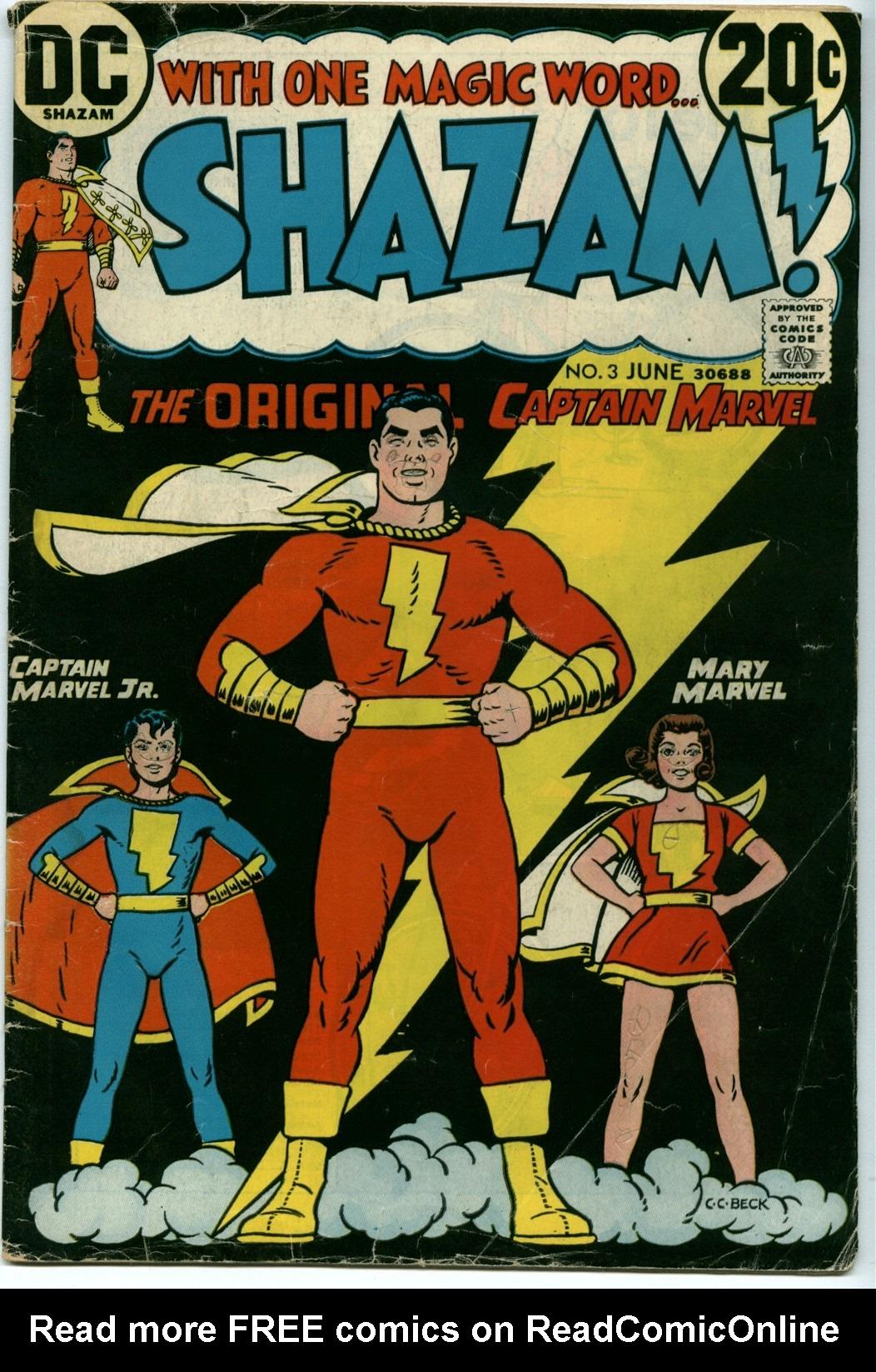 Read online Shazam! (1973) comic -  Issue #3 - 1