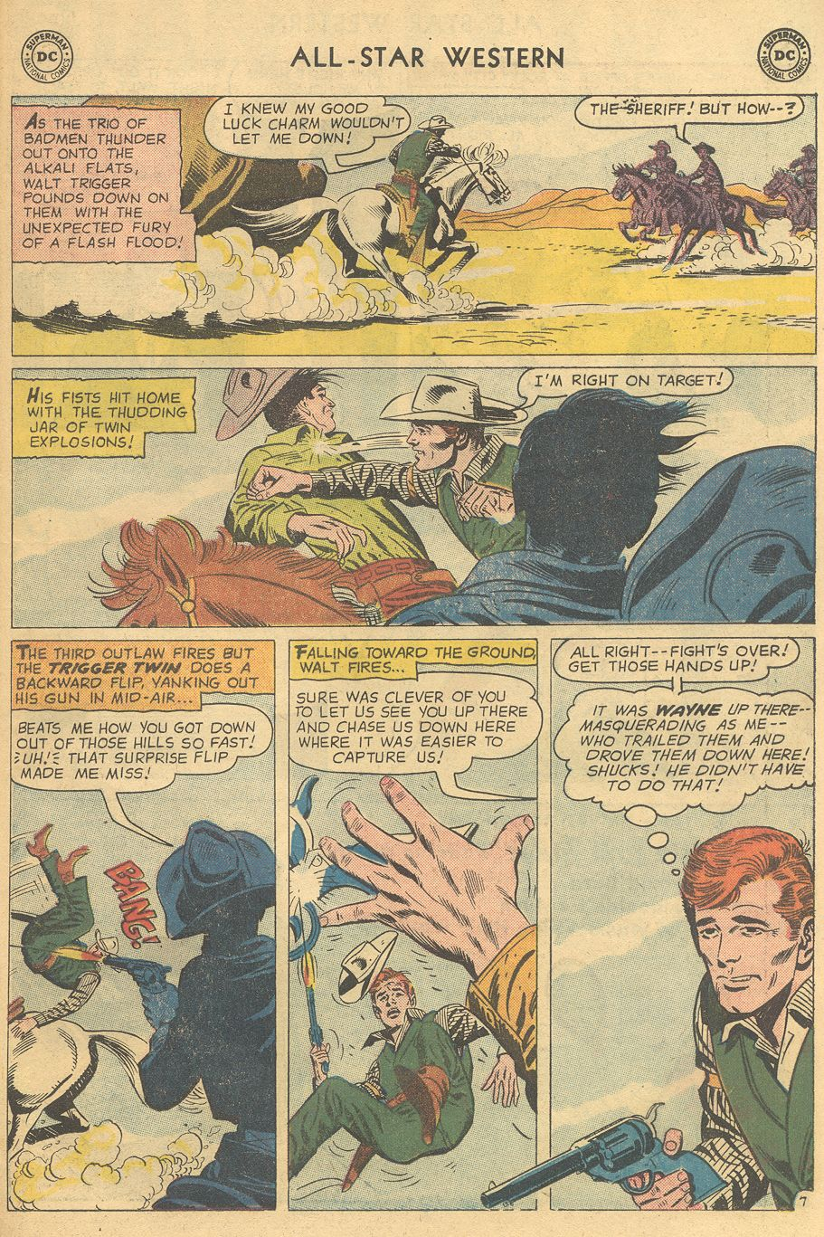 Read online All-Star Western (1951) comic -  Issue #108 - 31