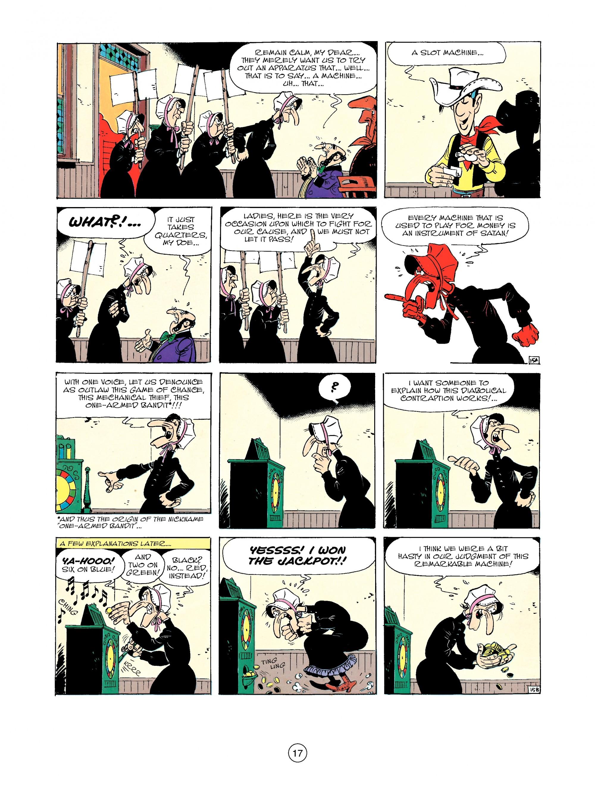 Read online A Lucky Luke Adventure comic -  Issue #33 - 17