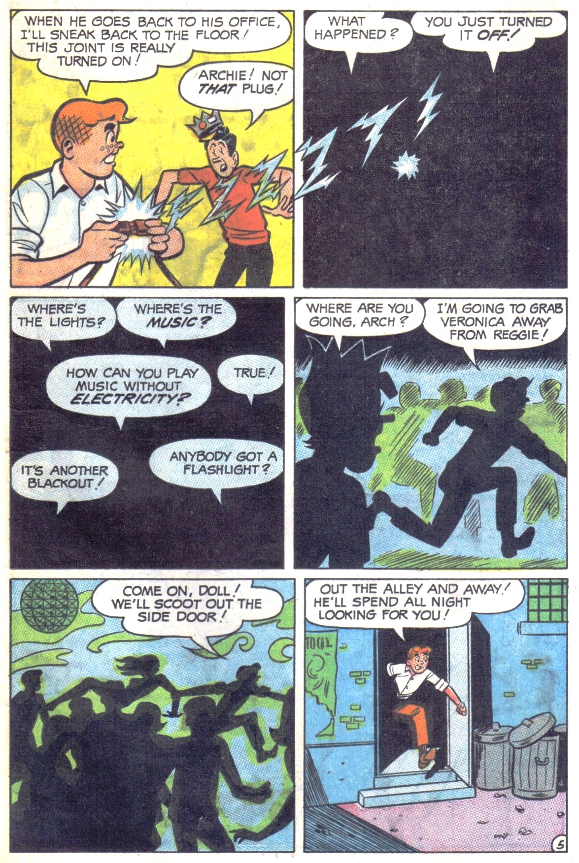 Read online Archie (1960) comic -  Issue #181 - 7